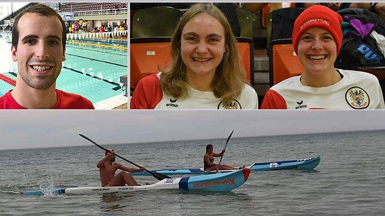 Drei Vorarlberger bei WM der Rettungsschwimmer in Australien