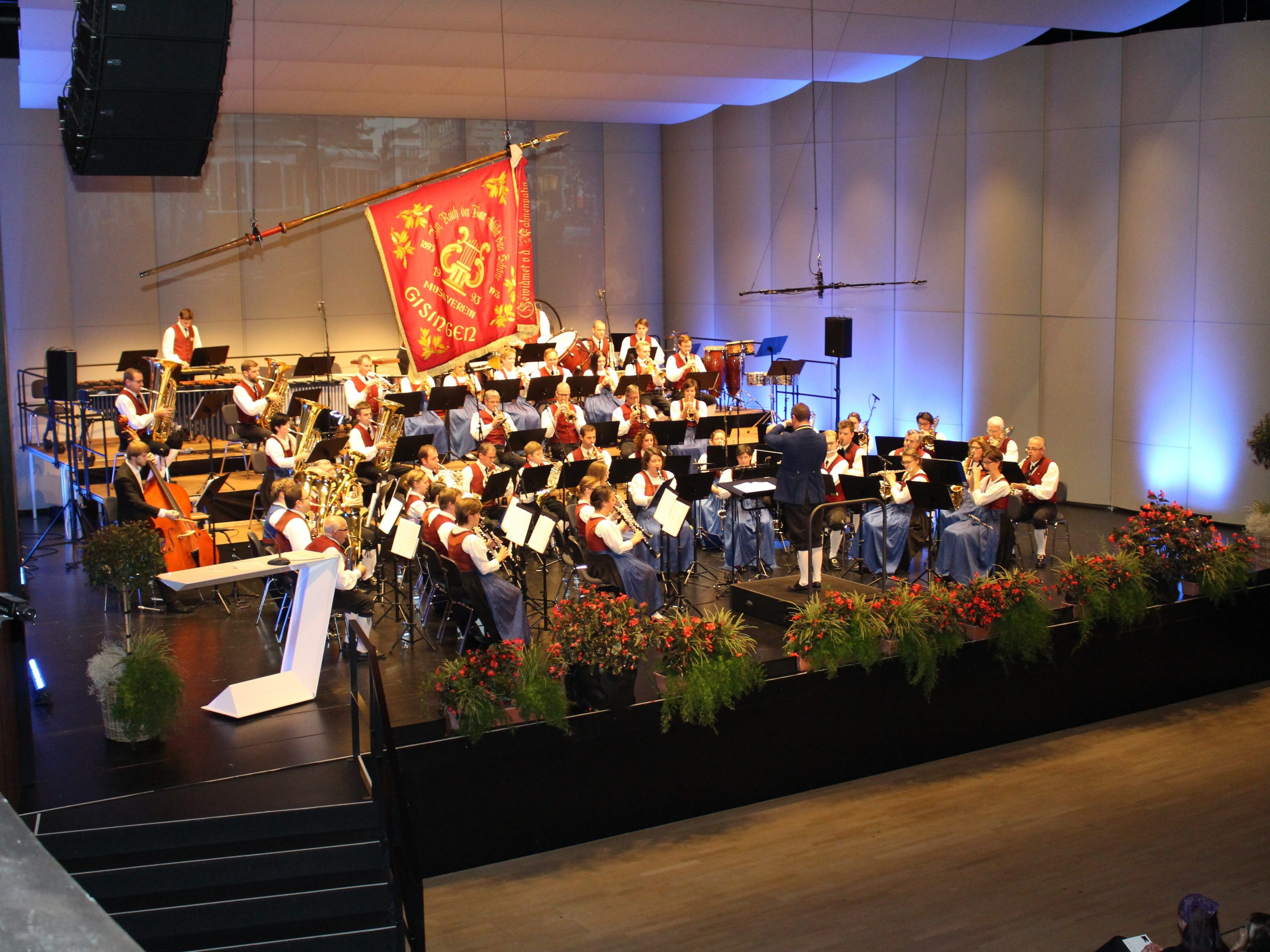 Temperamentvolles Konzert des Musikverein Gisingen zum 125-jährigen Bestandsjubiläum