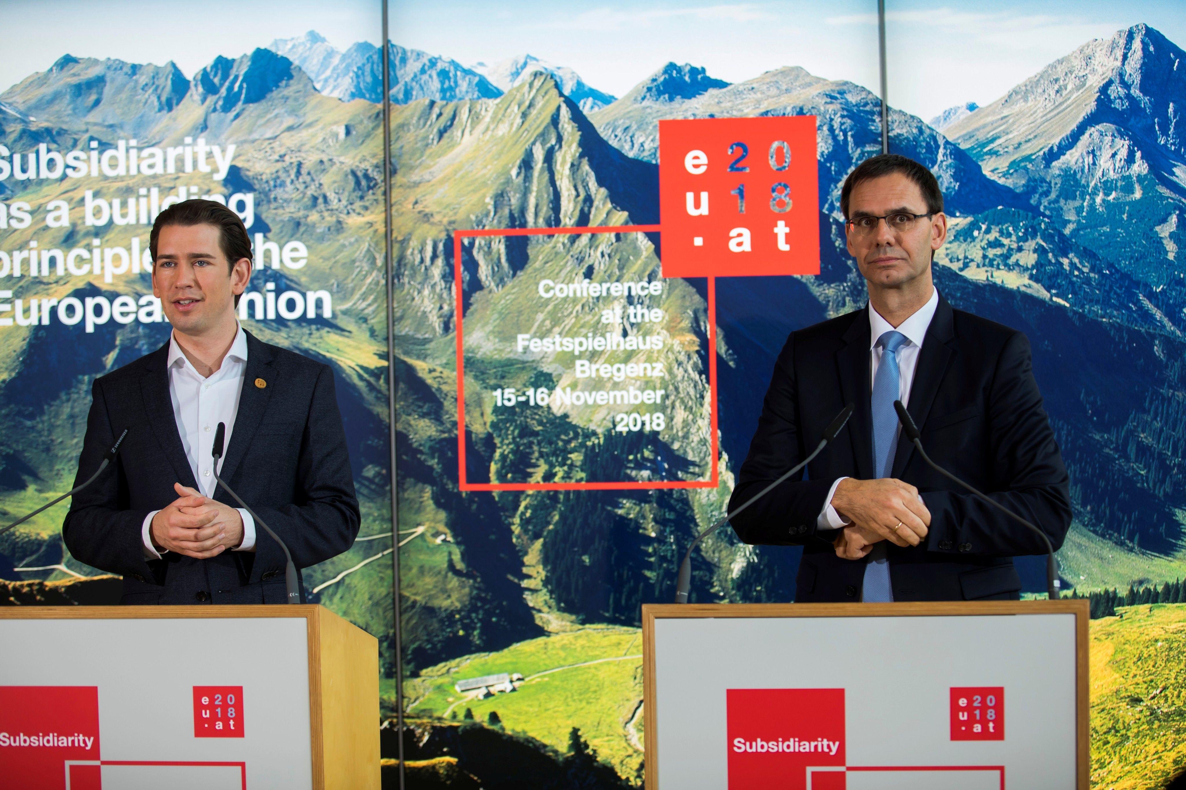Vorarlberg: Starke Regionen als Schrittmacher der Europäischen Integration