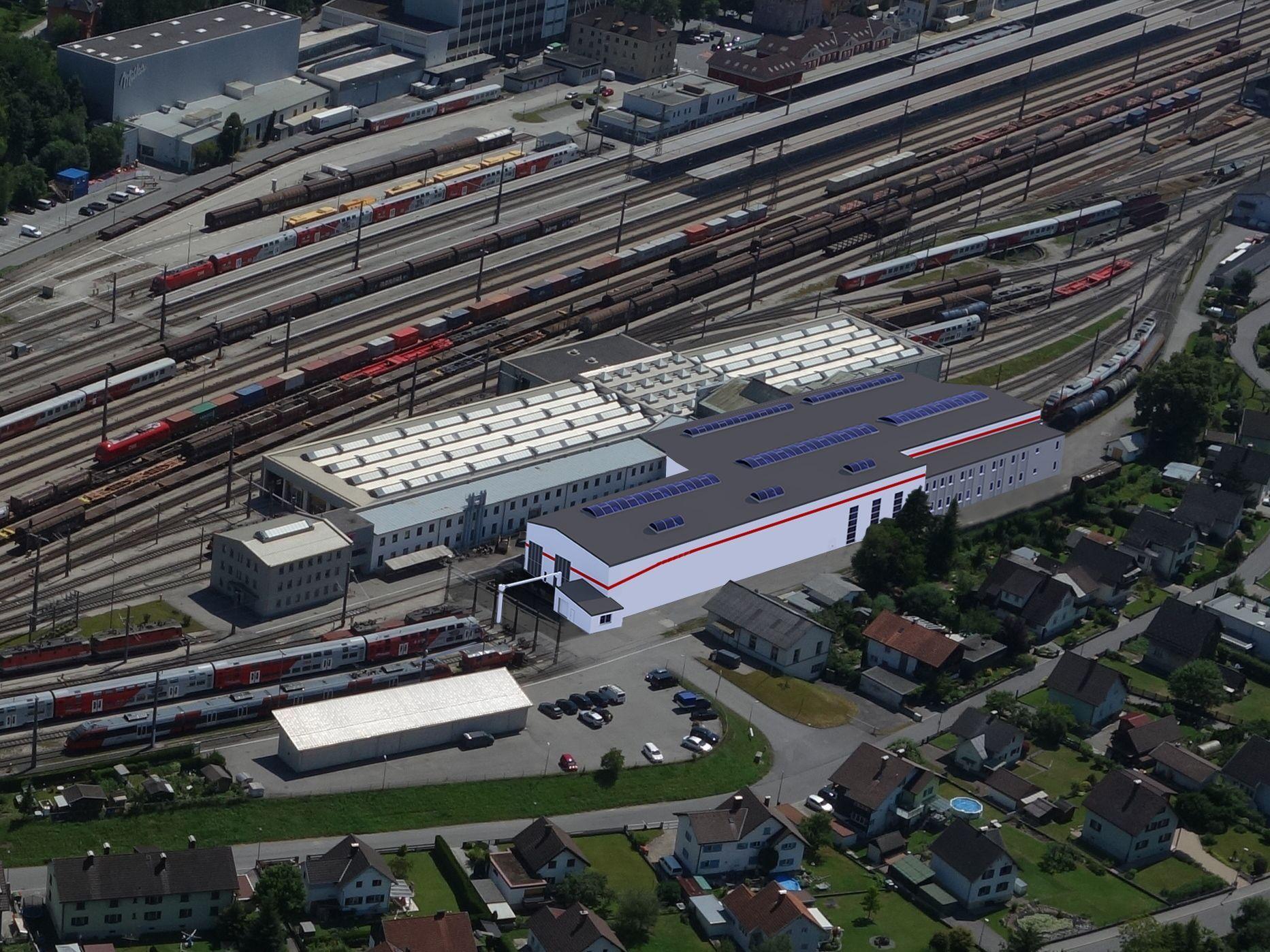 Vorarlberg: ÖBB investiert 12 Millionen Euro in Bludenz