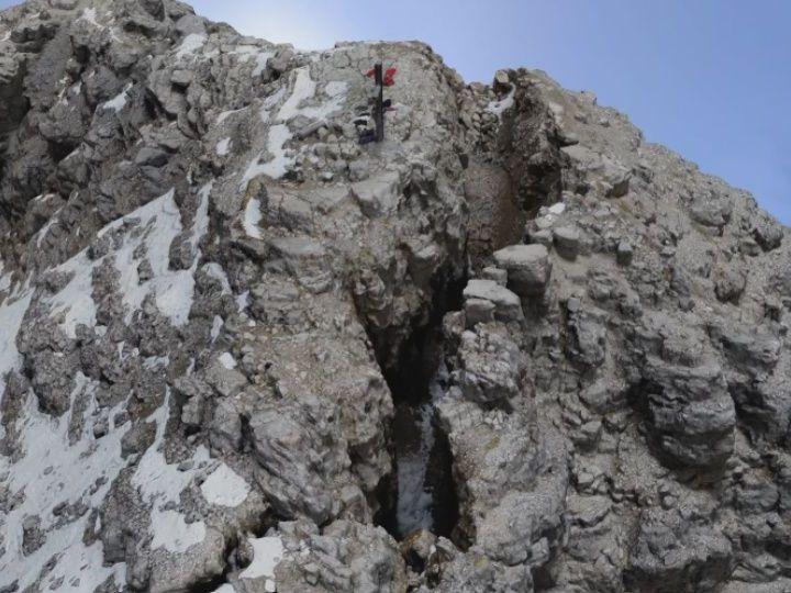 Bröseliger Berg: In den Allgäuer Alpen droht ein gewaltiger Felssturz