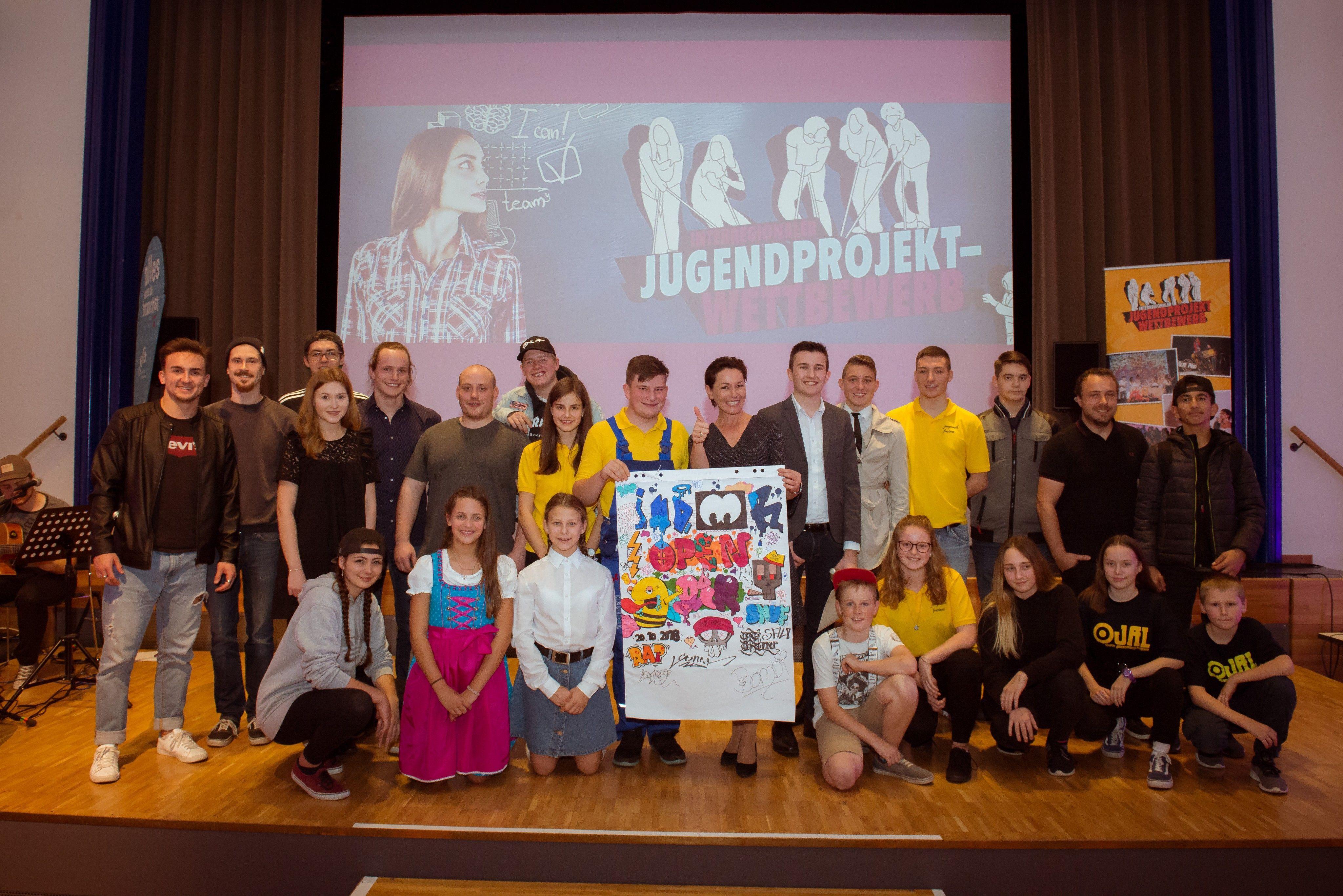 Jugendprojektwettbewerb: Wallner gratuliert Vorarlberg-Abordnung