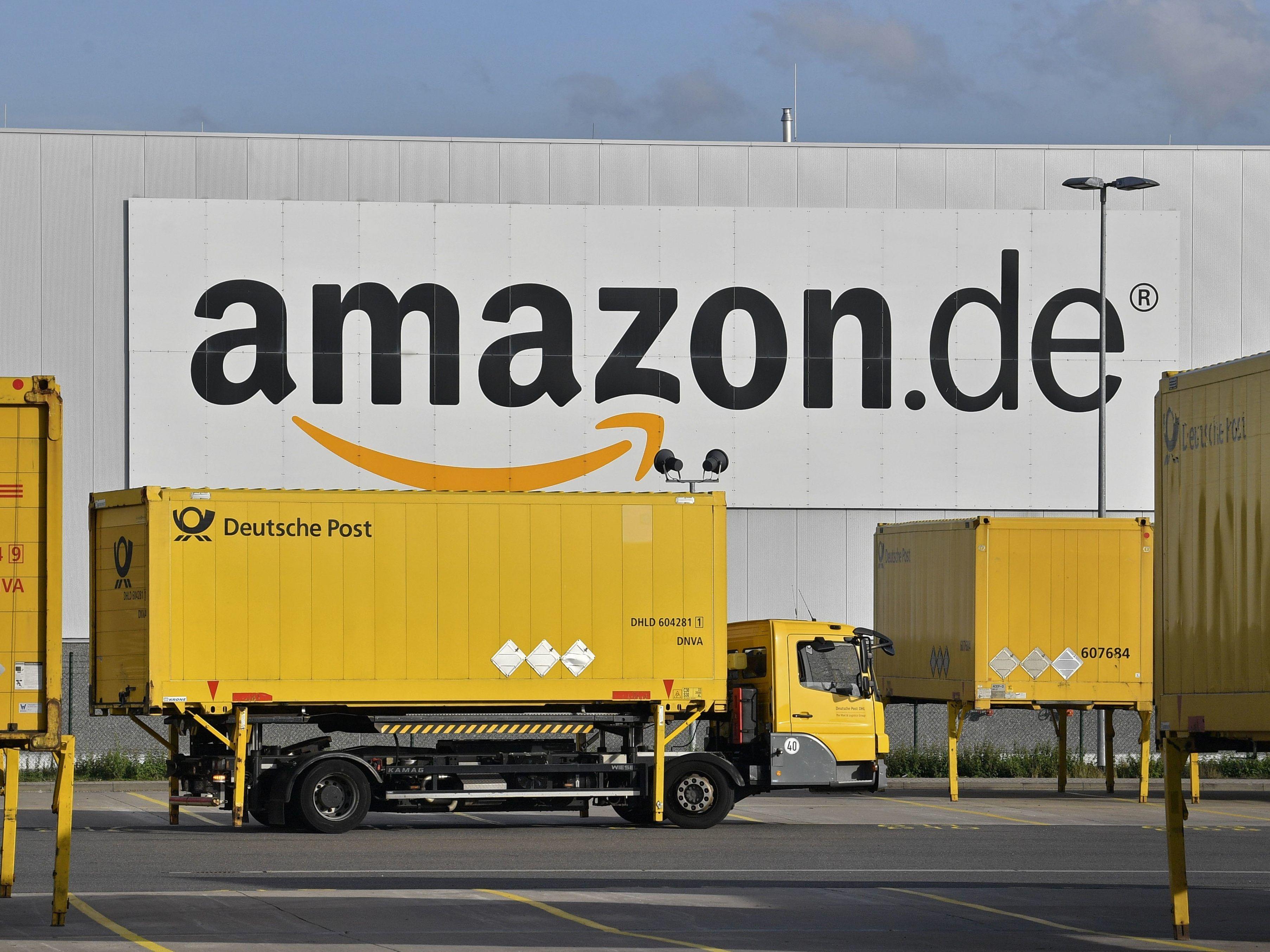 Kurz vor Weihnachten:Amazon-Mitarbeiter streiken