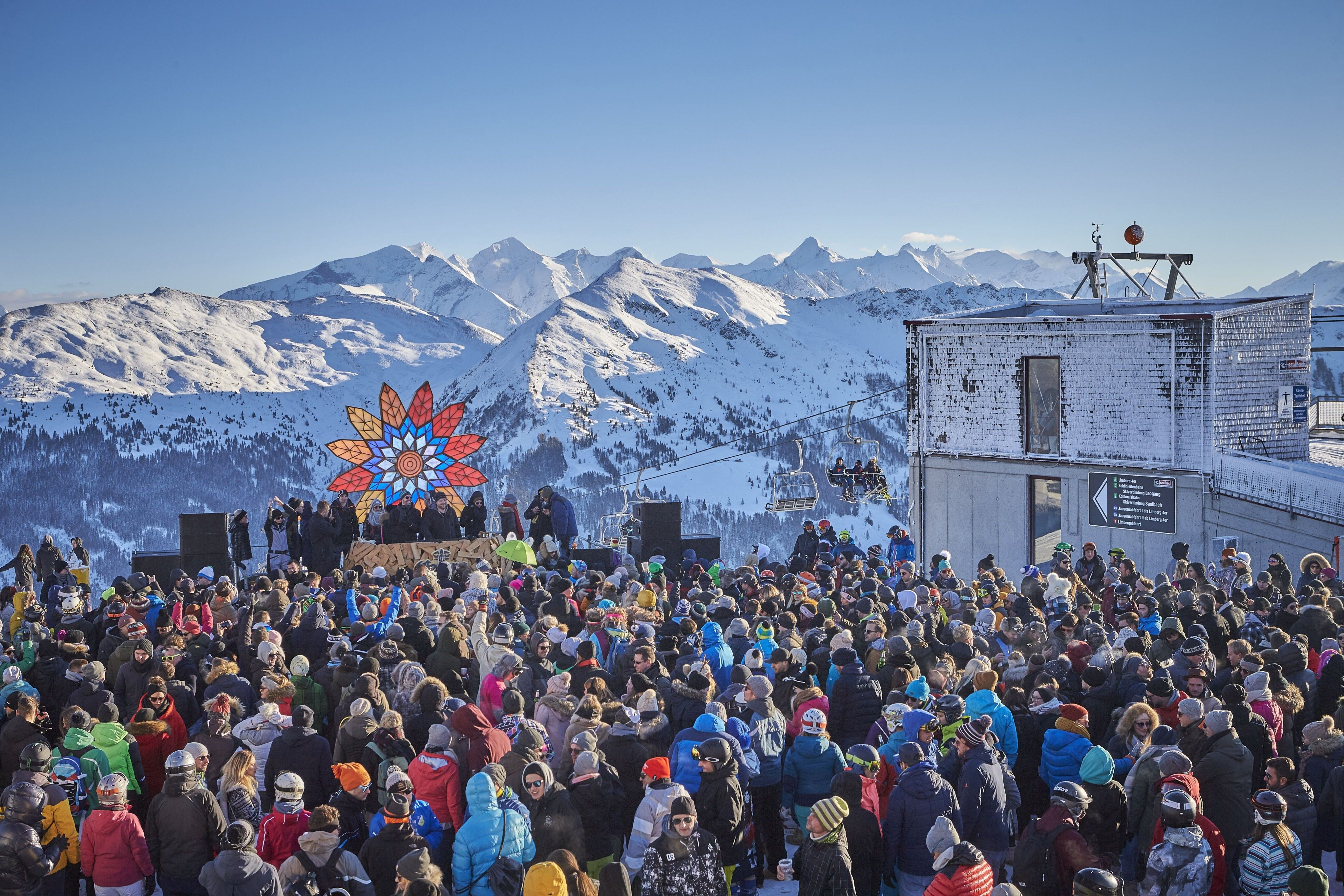 25 Jahre Rave on Snow in Saalbach Hinterglemm: 6.000 Besucher feierten mit