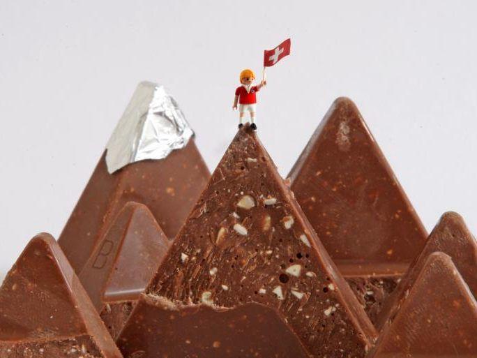 Schweizer Schokolade Toblerone ist jetzt