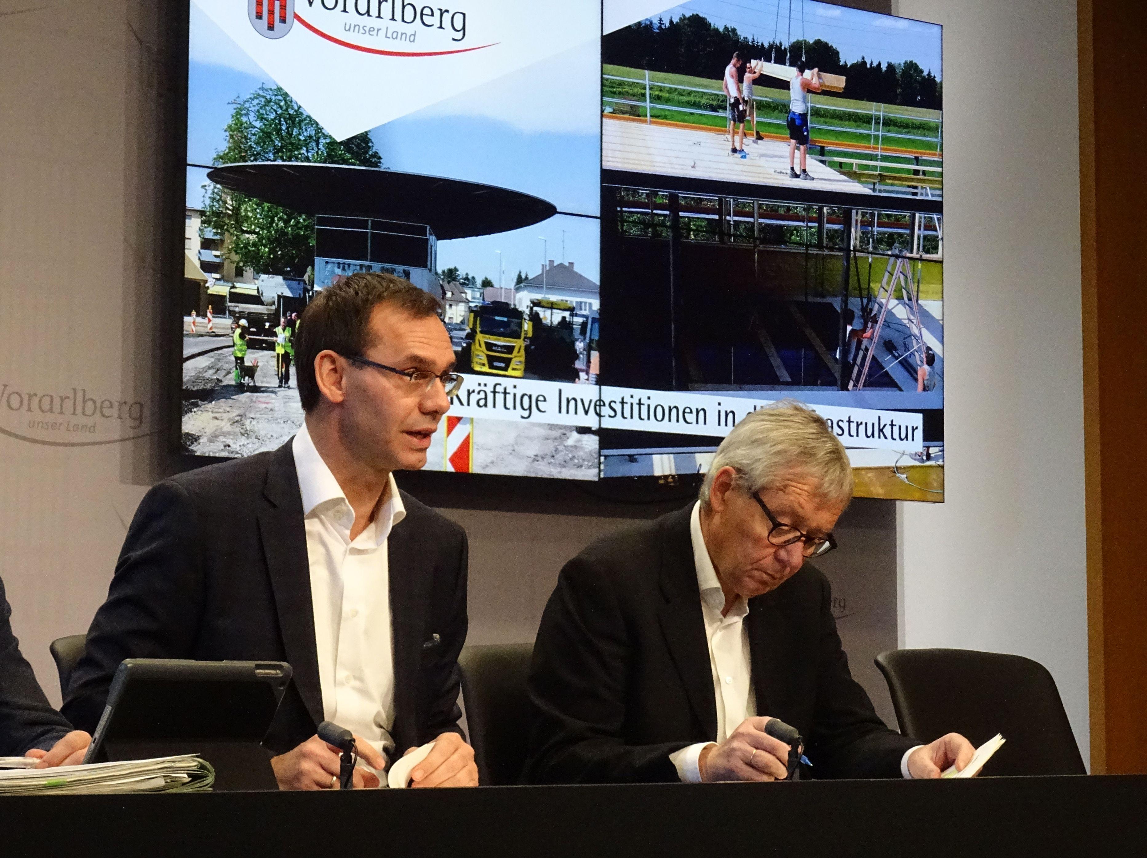 Vorarlberg investiert 108 Millionen Euro in Infrastruktur