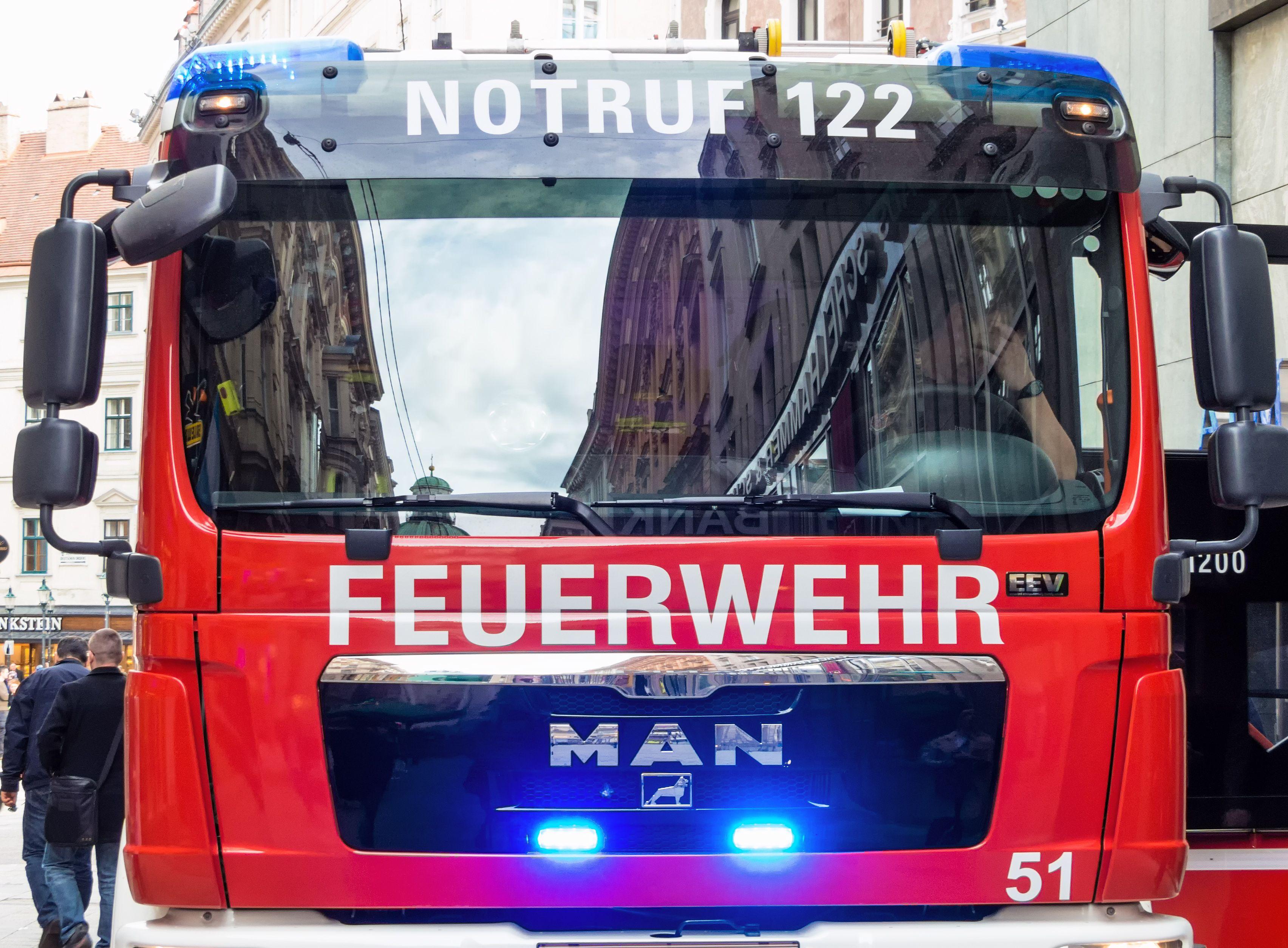 Vorarlberg: Brand in Feldkirch