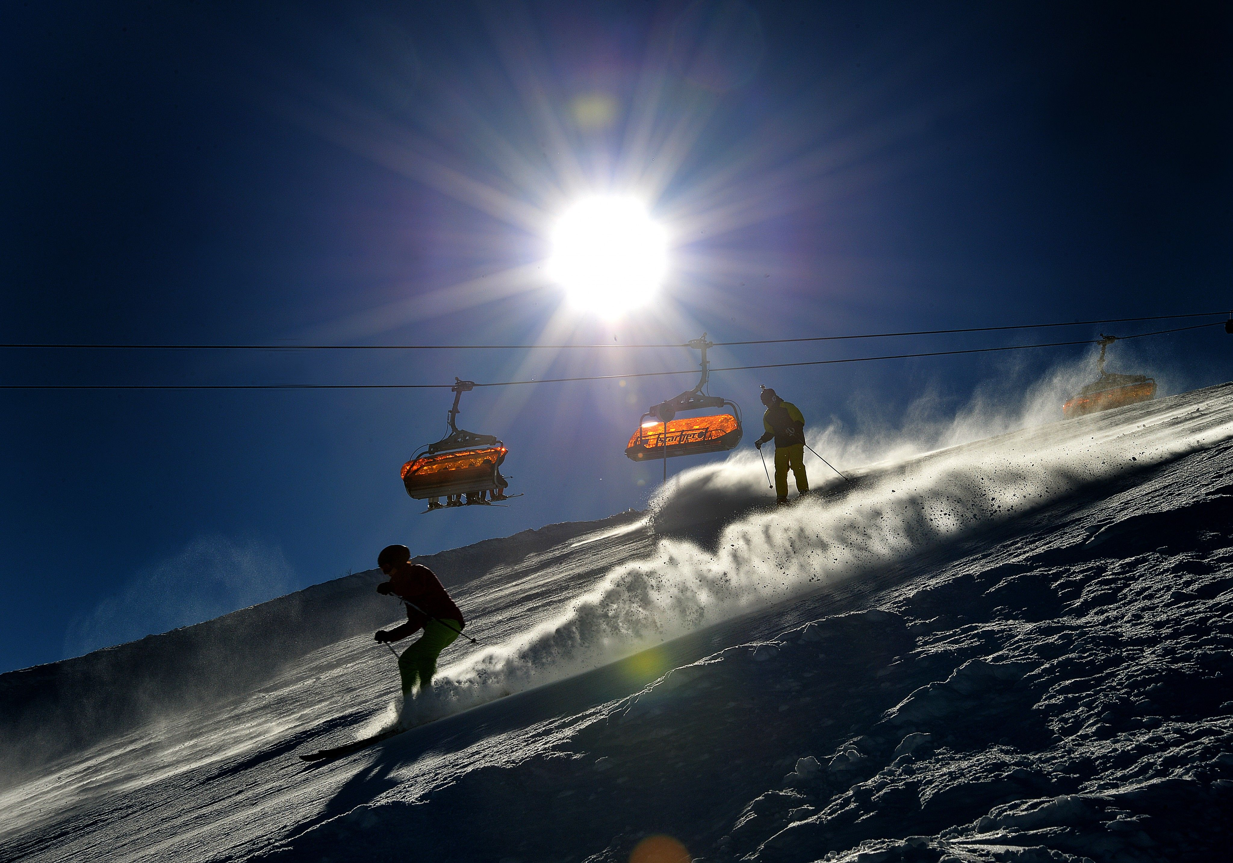 Vorarlberg: Skifahrer in Klösterle schwer verletzt