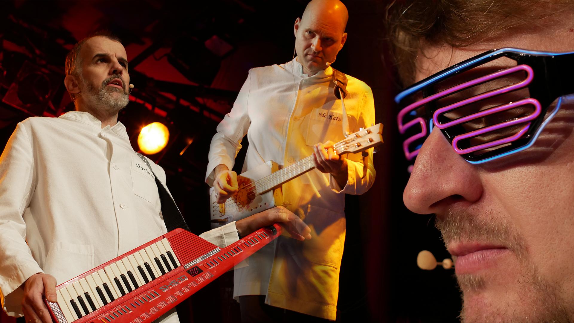 Die drei Friseure mit dem Bügelbrett - Vorarlberger Musik Kabarettisten auf Russland-Tour