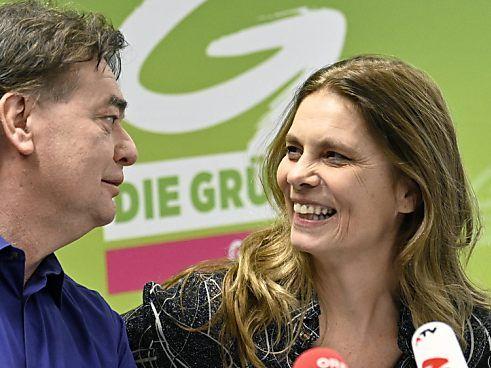 Kogler präsentierte Wiener als Kandidatin