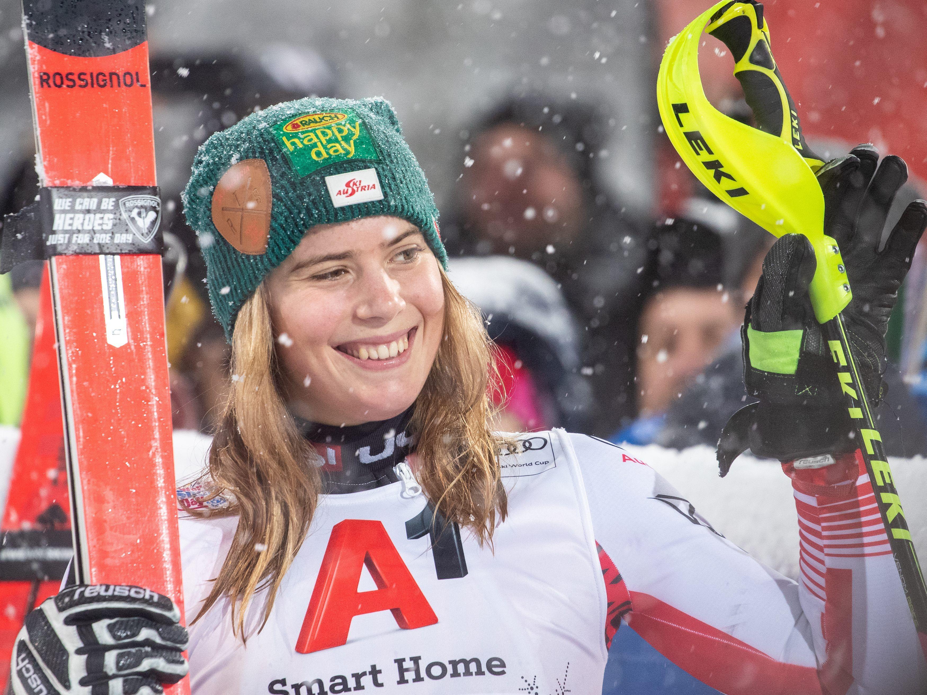 Liensberger: Der erste Auftritt bei der WM - Ski-WM -- VOL.AT