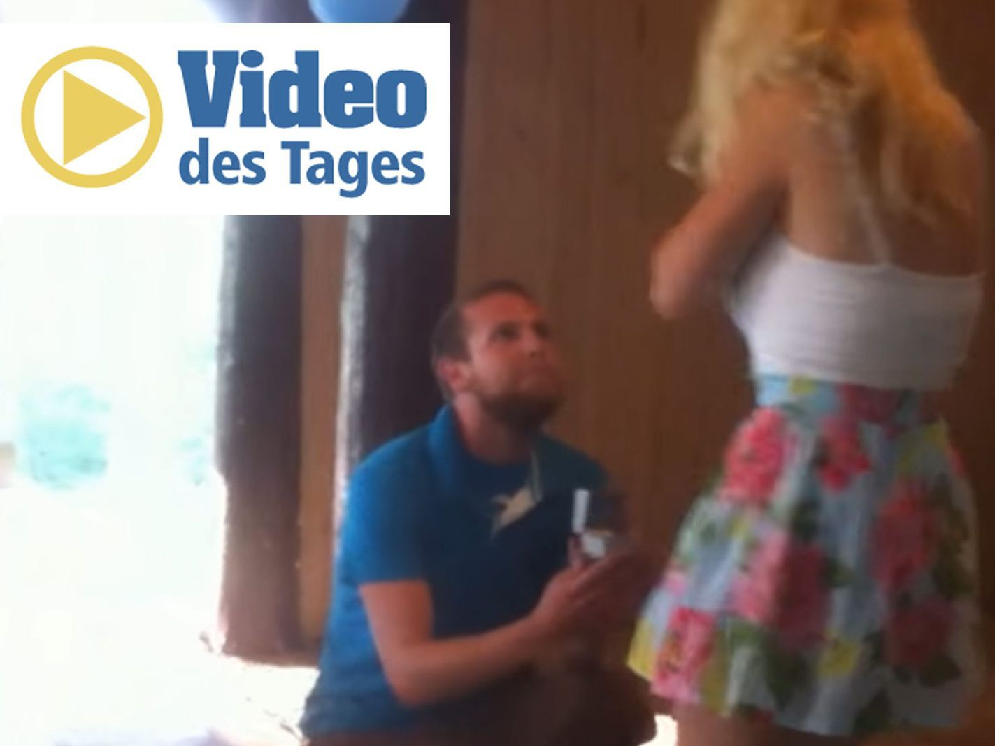 Vol Video Des Tages Volat