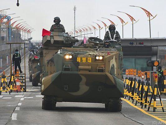 USA und Südkorea stoppen Großmanöver