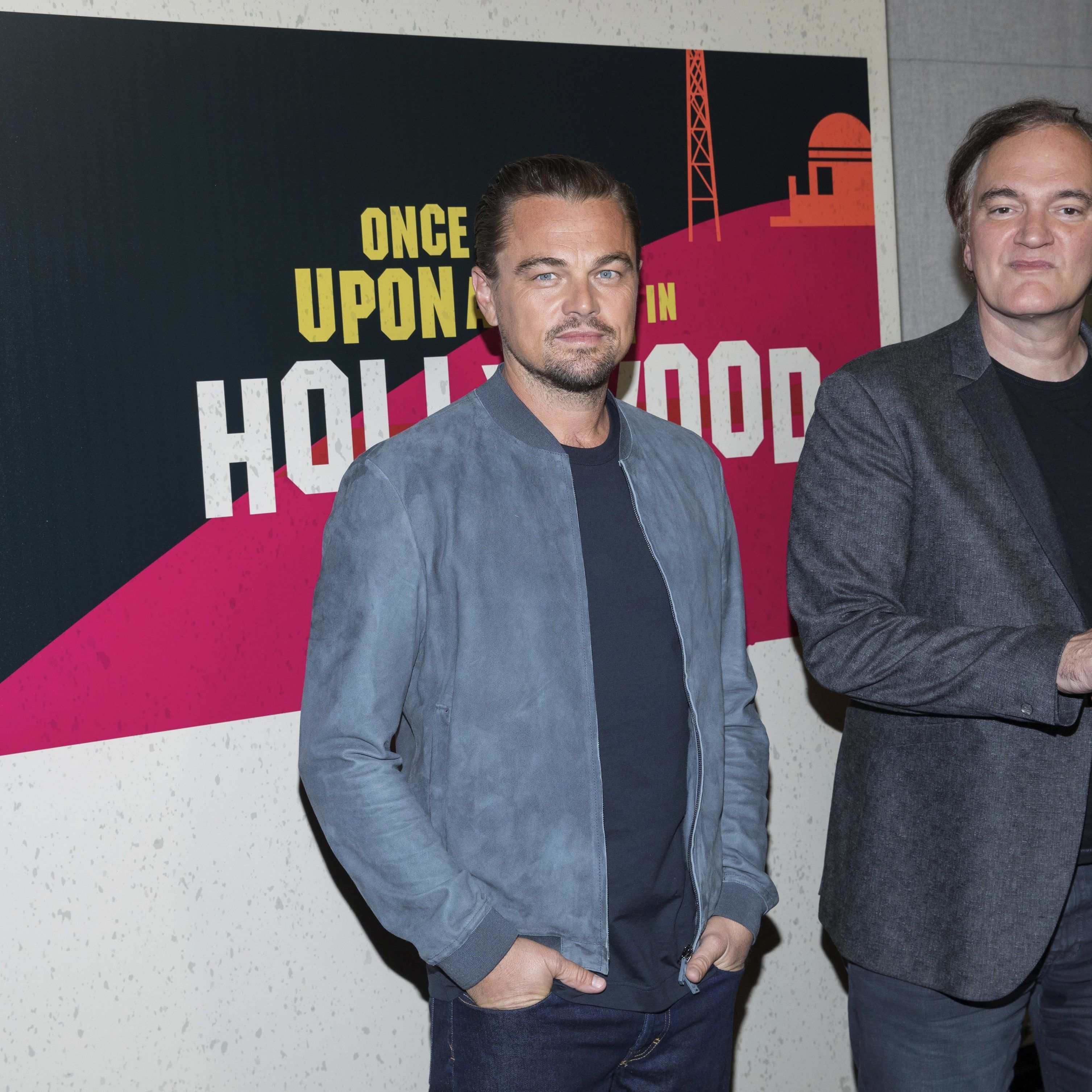 "Im Sommer startet der neuen Film mit DiCaprio ""Once Upon a Time...in Hollywood""."