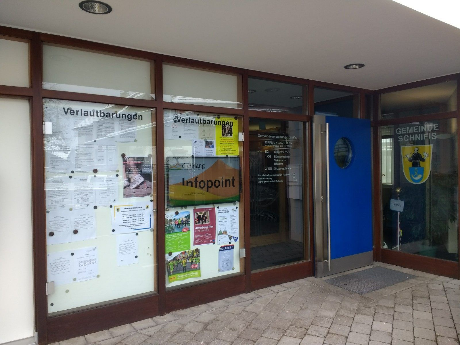 Infopoint Schnifis