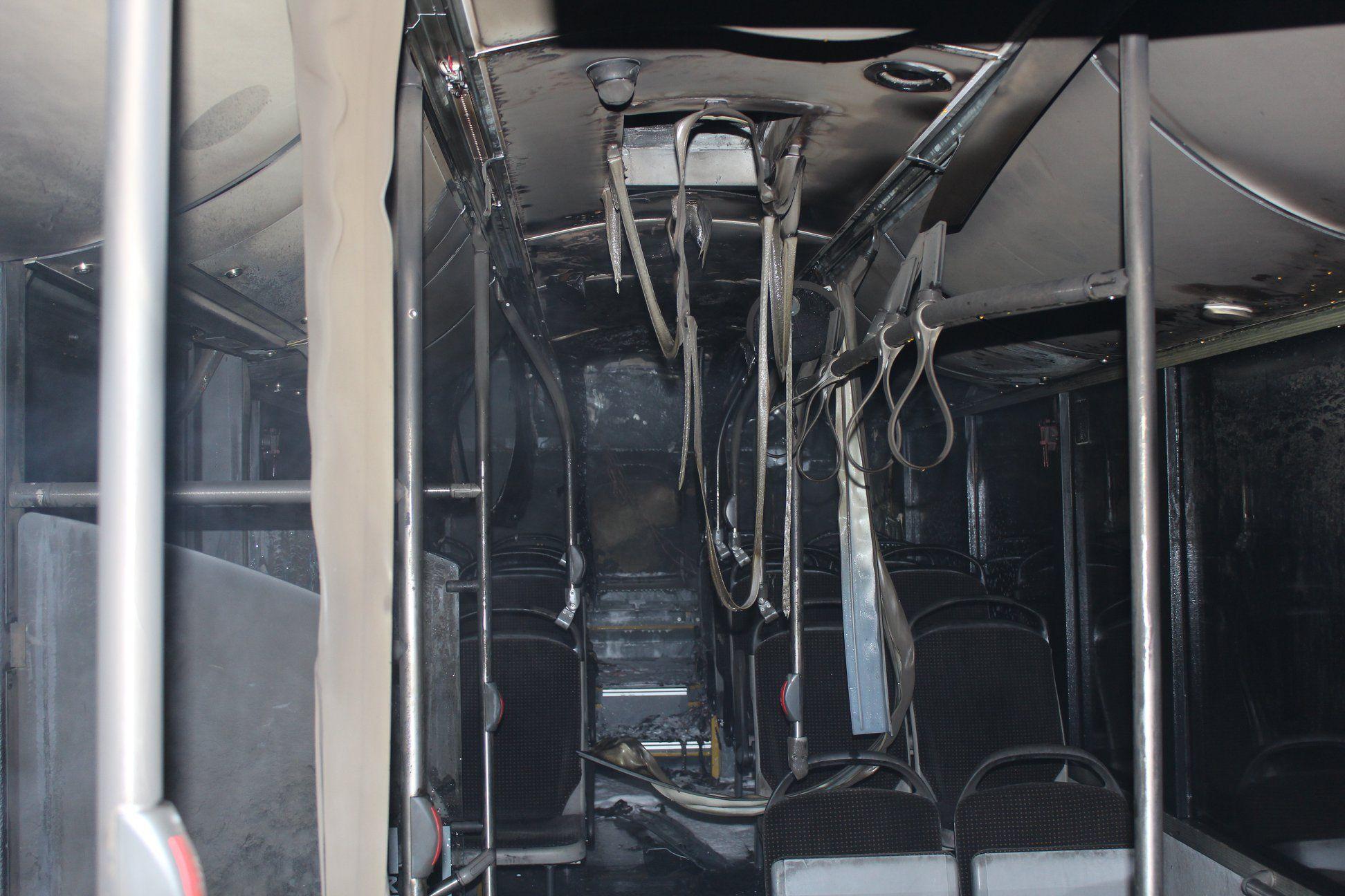 Vorarlberg: Linienbus in Lustenau fängt Feuer