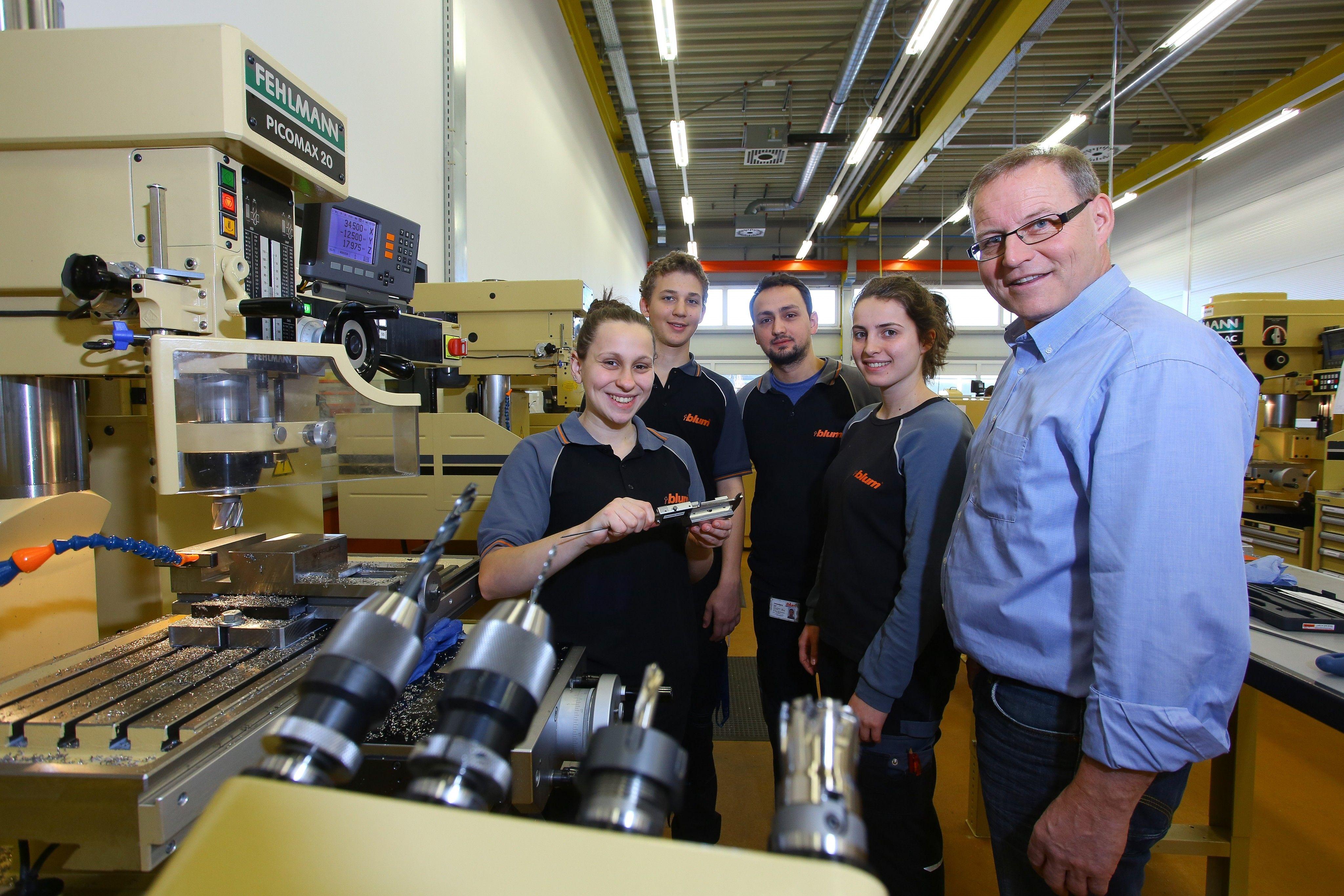 Mehr Mächen wollen Lehre in der Metallbranche beginnen