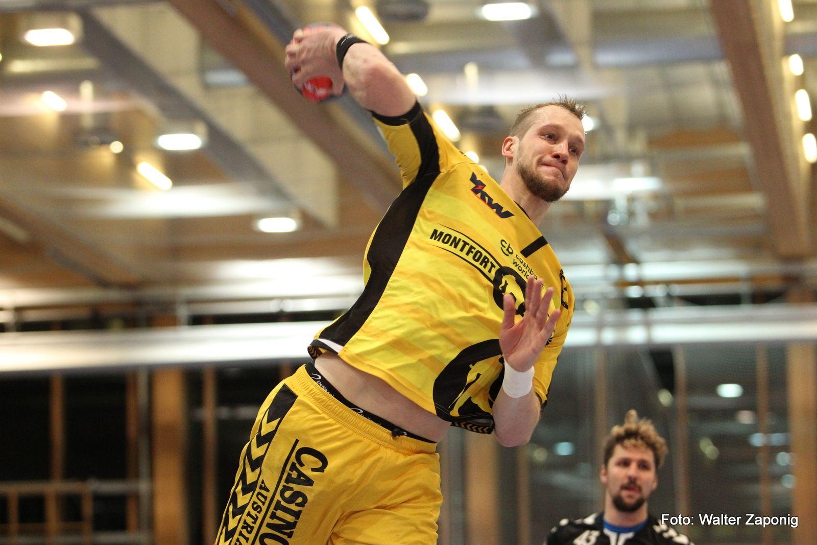 Vorarlberg: Bregenz Handball verlängert mit Povilas Babarskas