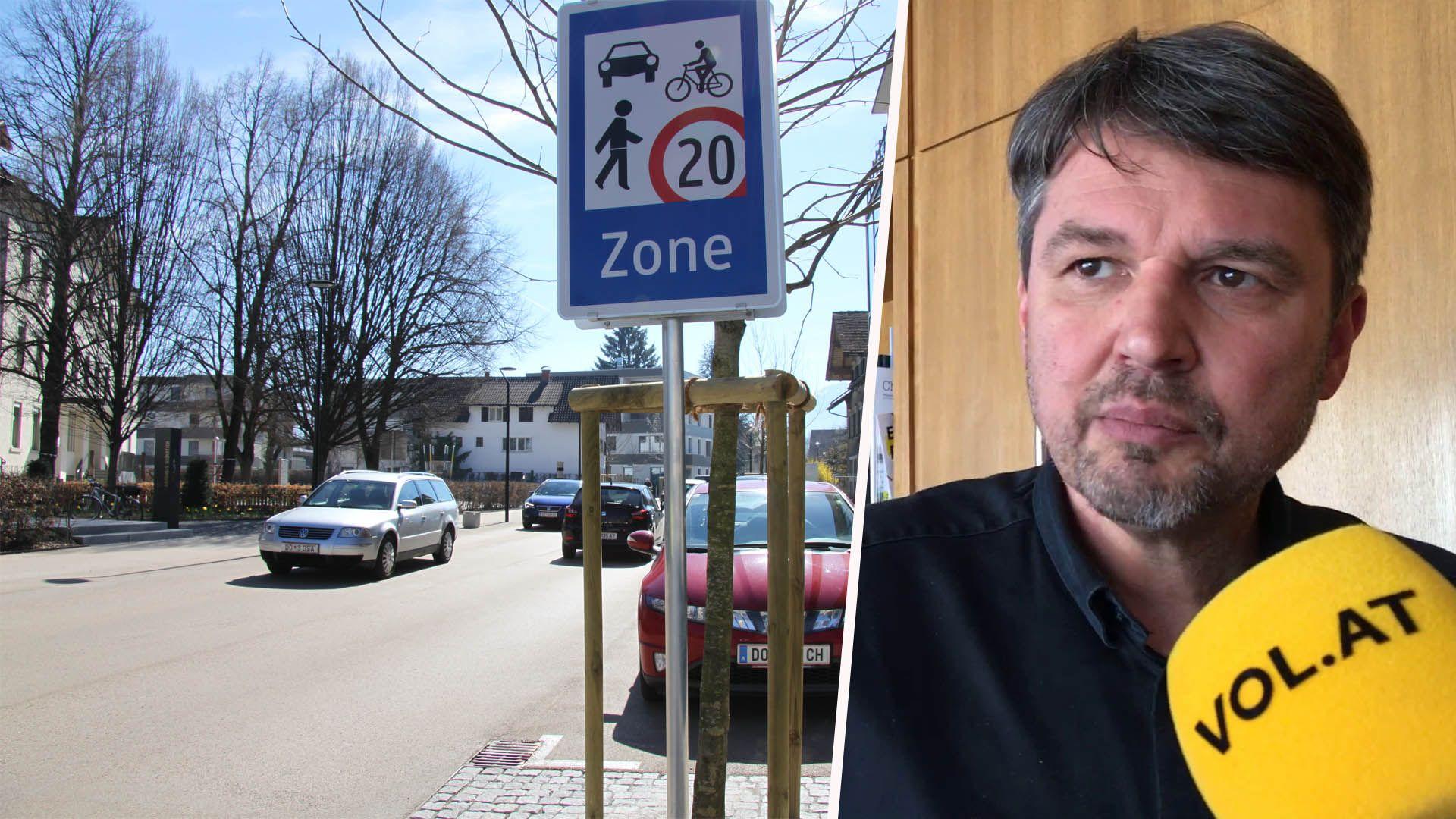 Lustenau-Kirchdorf: Neue Begegnungzone mit Tempo 20 erhitzt Gemüter