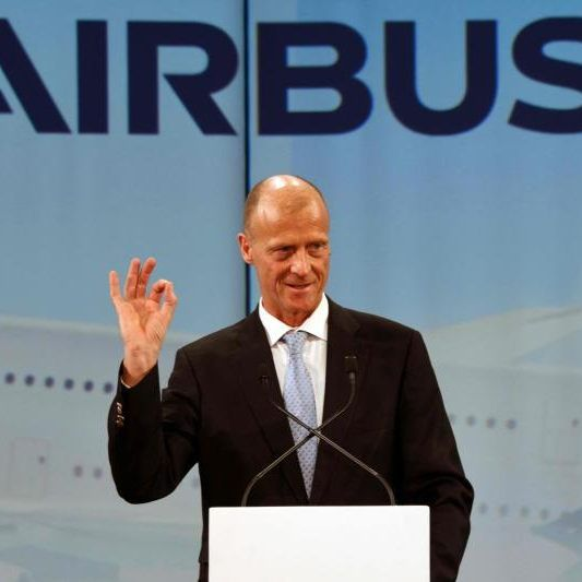 Airbus Chief Executive Officer Tom Enders