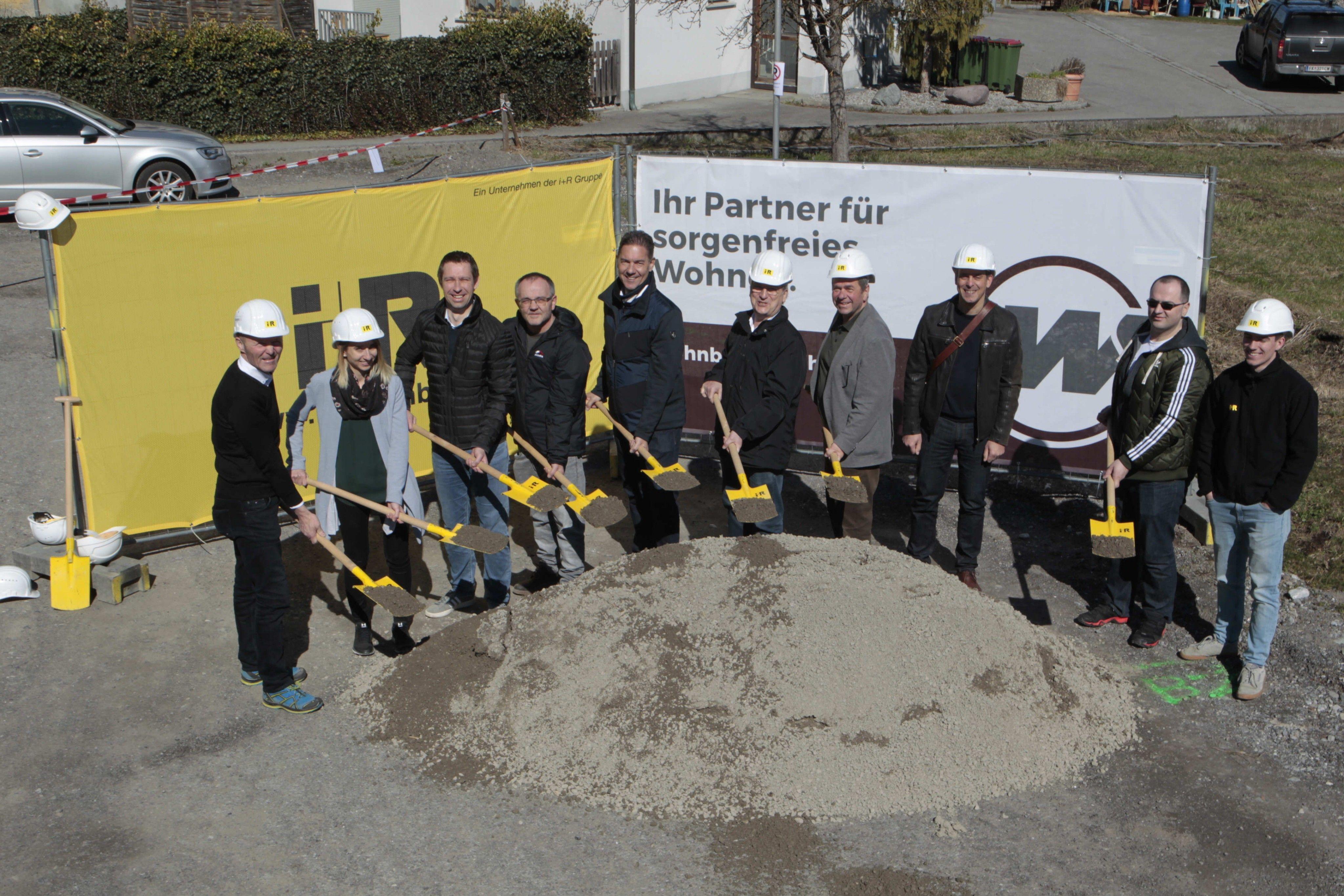 Vorarlberg: Baustart für gemeinnützige Wohnanlage in Frastanz