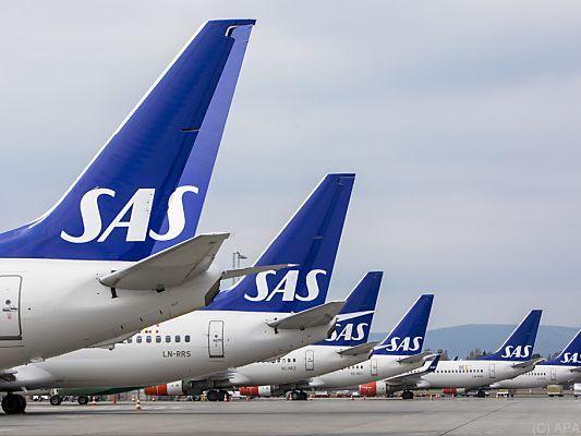 Weitere 1.200 Flugausfälle wegen Streiks bei Airline SAS