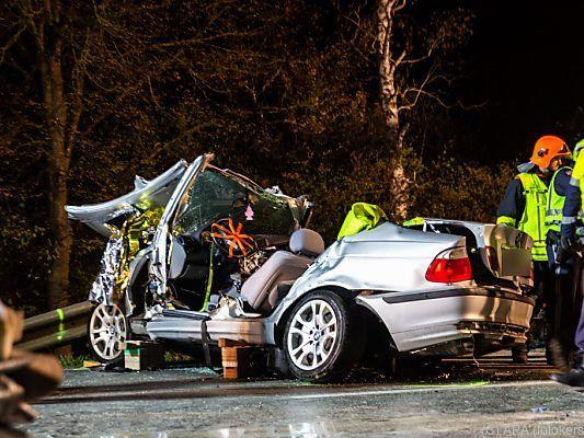 Heavy traffic accident on the Vienna Bundesstraße near Hörsching