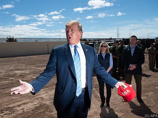 Trump will US-Soldaten an mexikanische Grenze schicken Mexiko