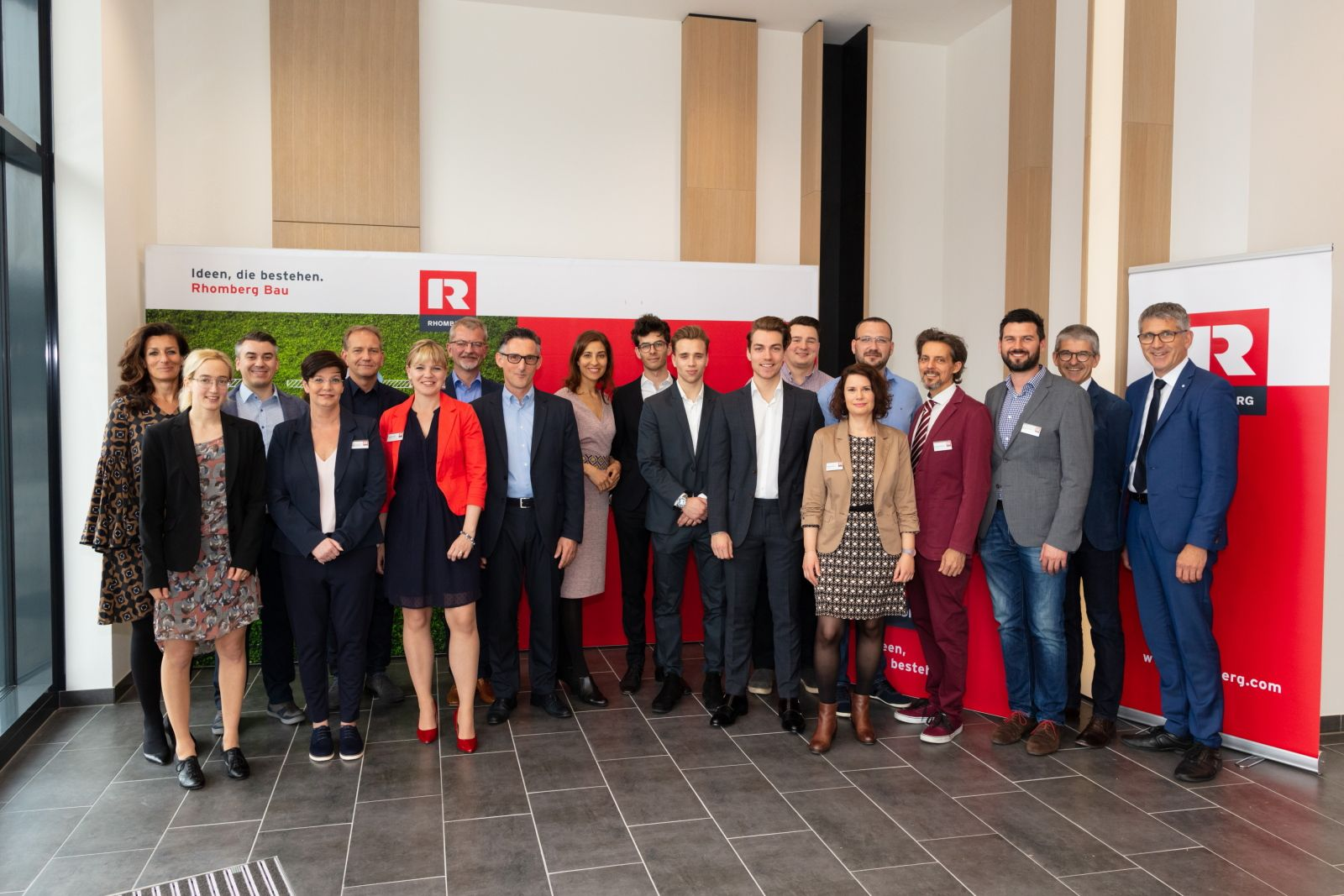 Rhomberg Bau eröffnet neues Büro in Wien