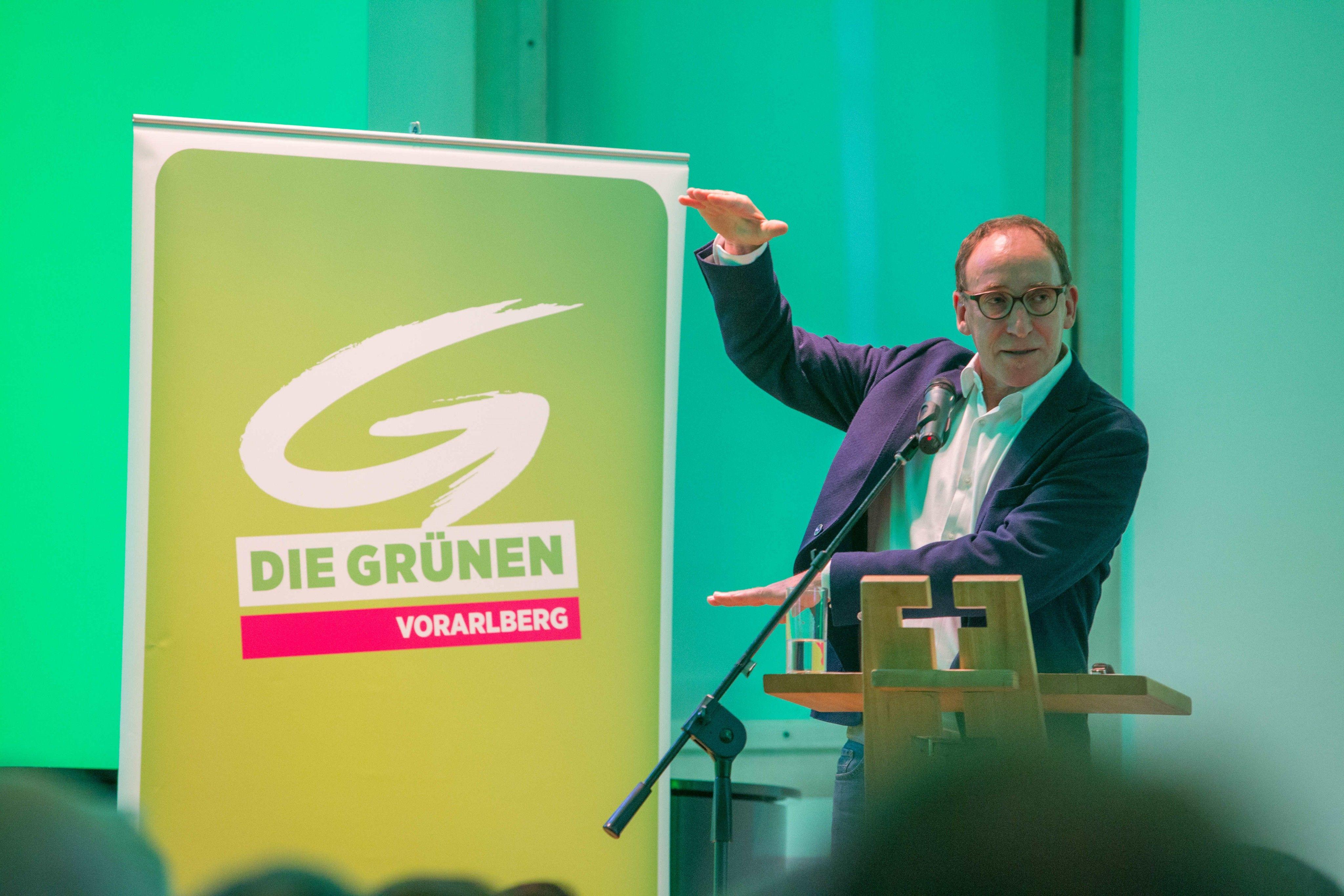 Grüne kürten Johannes Rauch zum Spitzenkandidaten