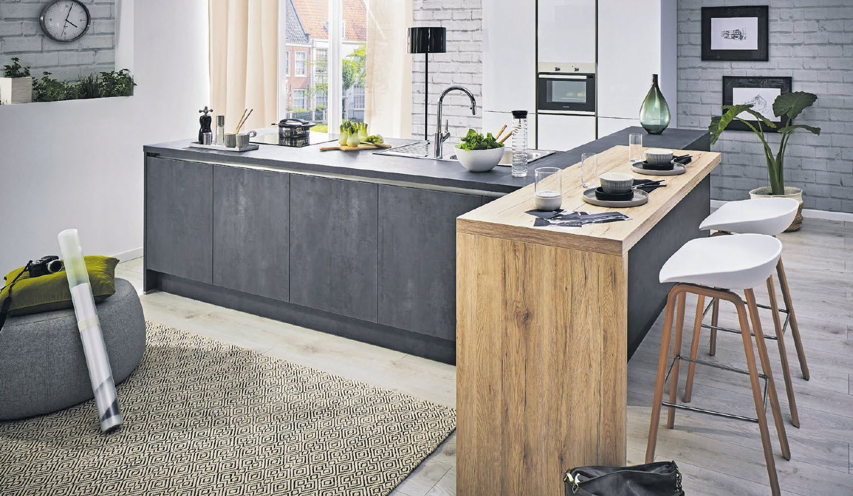 Die Küche ist der wichtigste Lebensraum im Haus