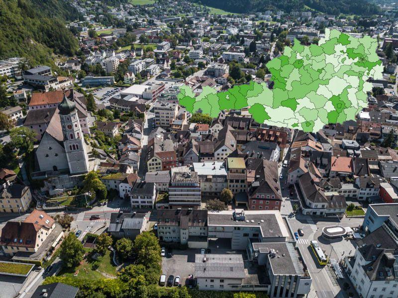 Zukunftsranking Österreich:Alle vier Vorarlberger Bezirke fallen zurück