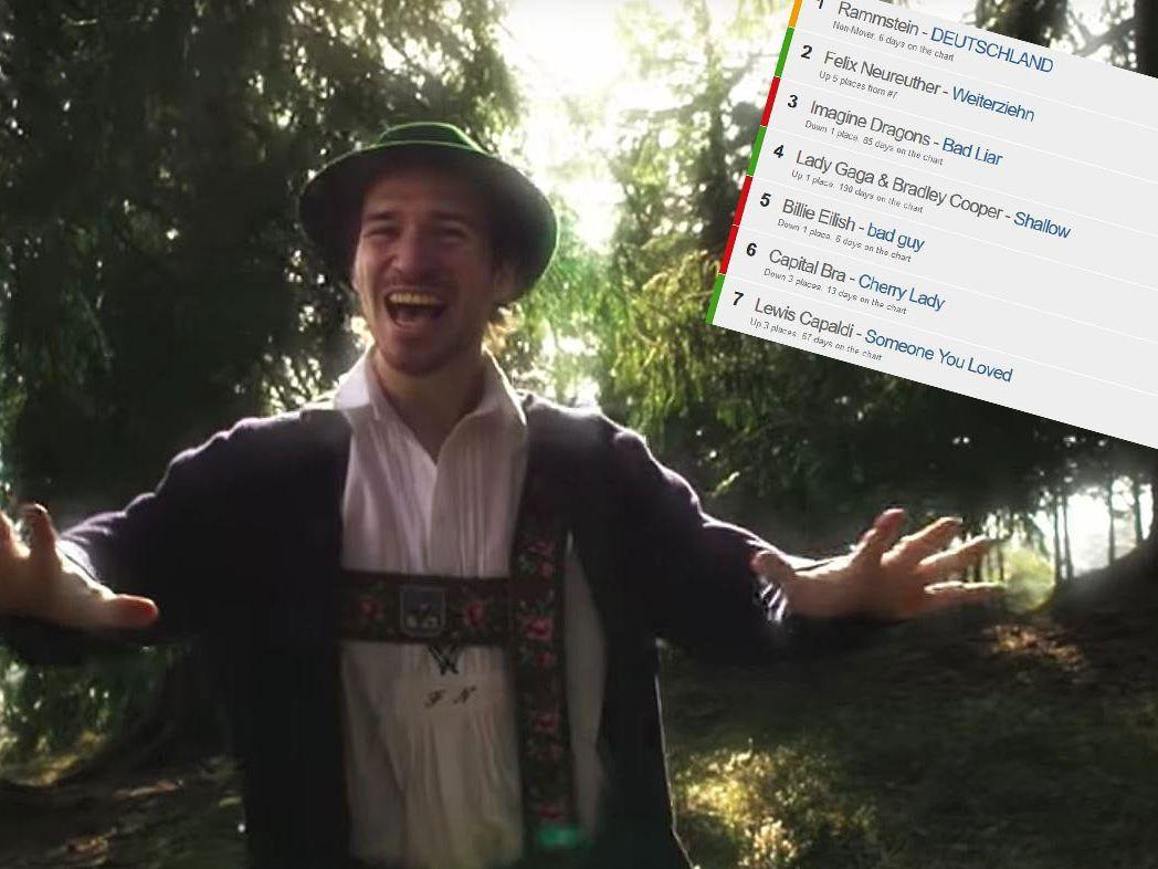 ITunes-Charts: Nur Rammstein schlägt Felix Neureuther