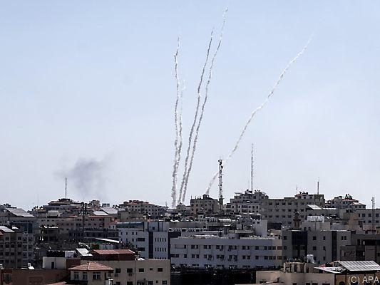 Raketen aus Gaza: Hamas feuert wieder auf Israel