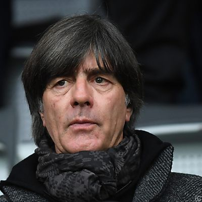Deutscher Nationaltrainer Löw in Klinik