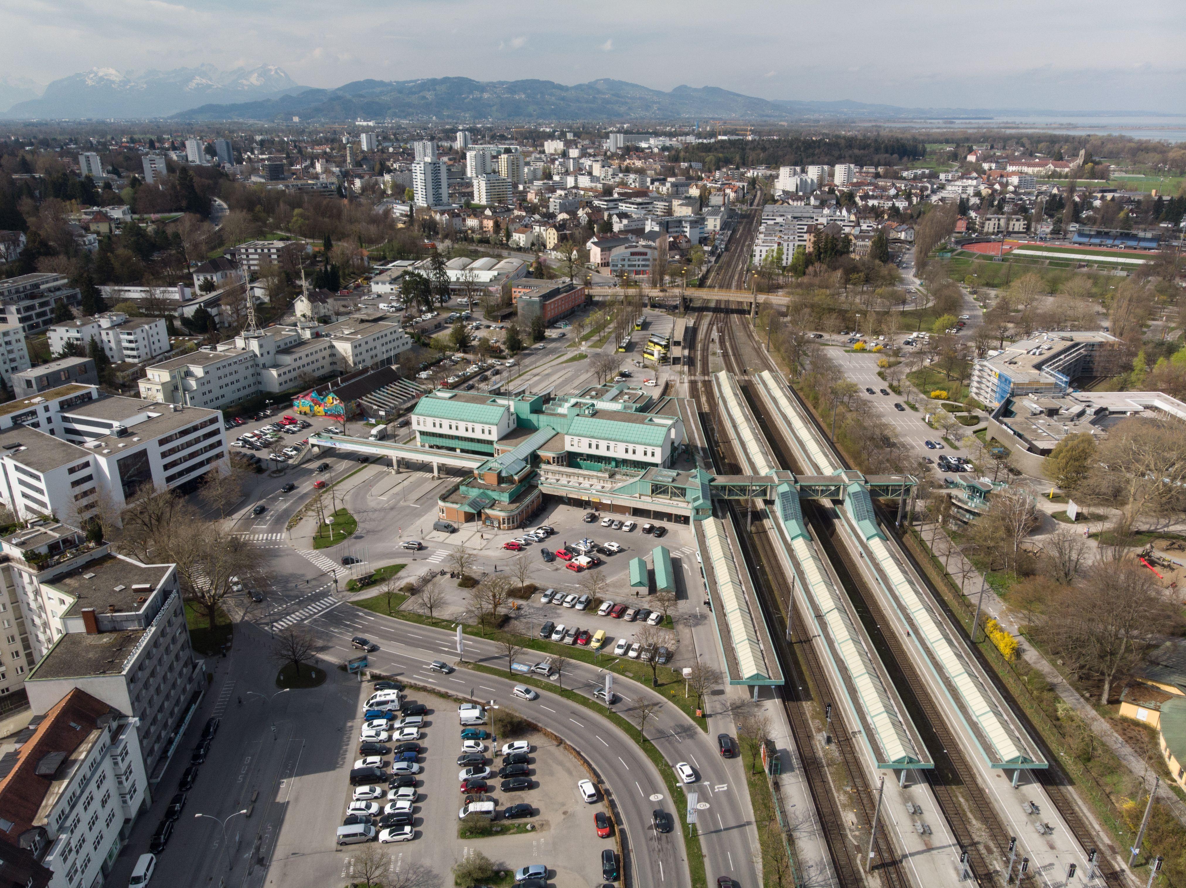 Bahnhofareal Bregenz: Stadt prüft weitere Variante