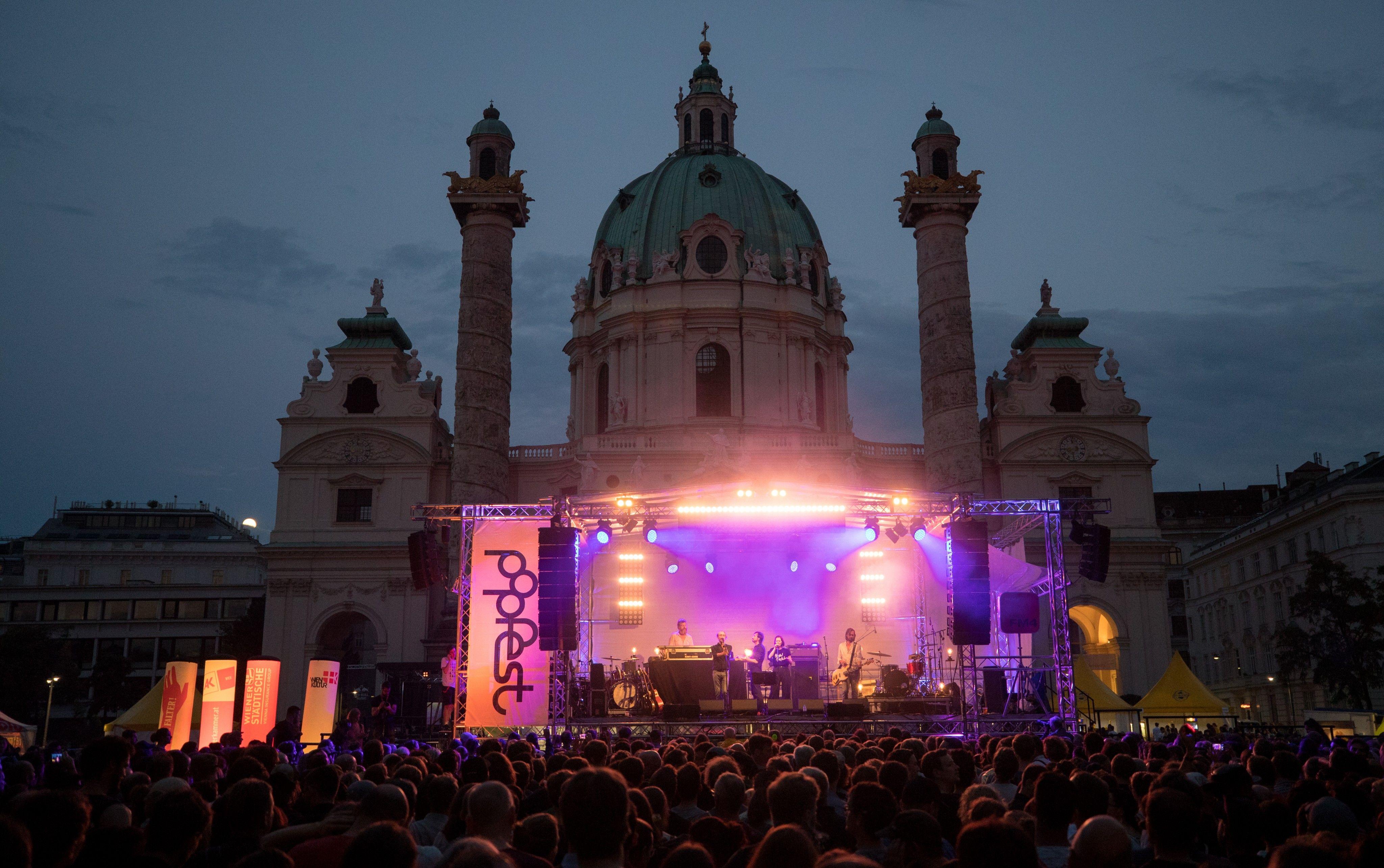 Wurst, Ebow, Avec: Erste Acts beim Wiener Popfest 2019 stehen fest