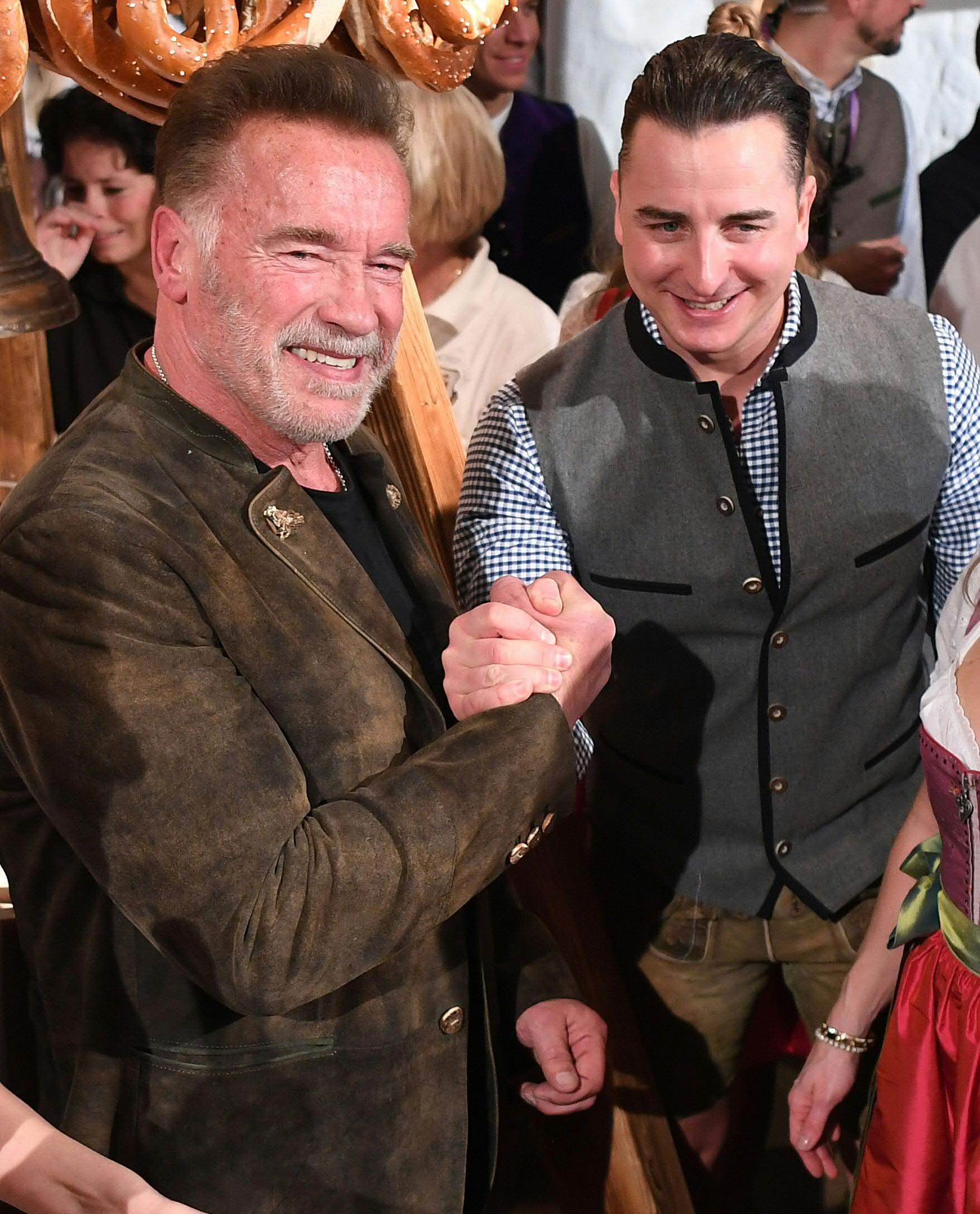 """""""Pump It Up"""": Neue Single von Andreas Gabalier und Arnold Schwarzenegger"""