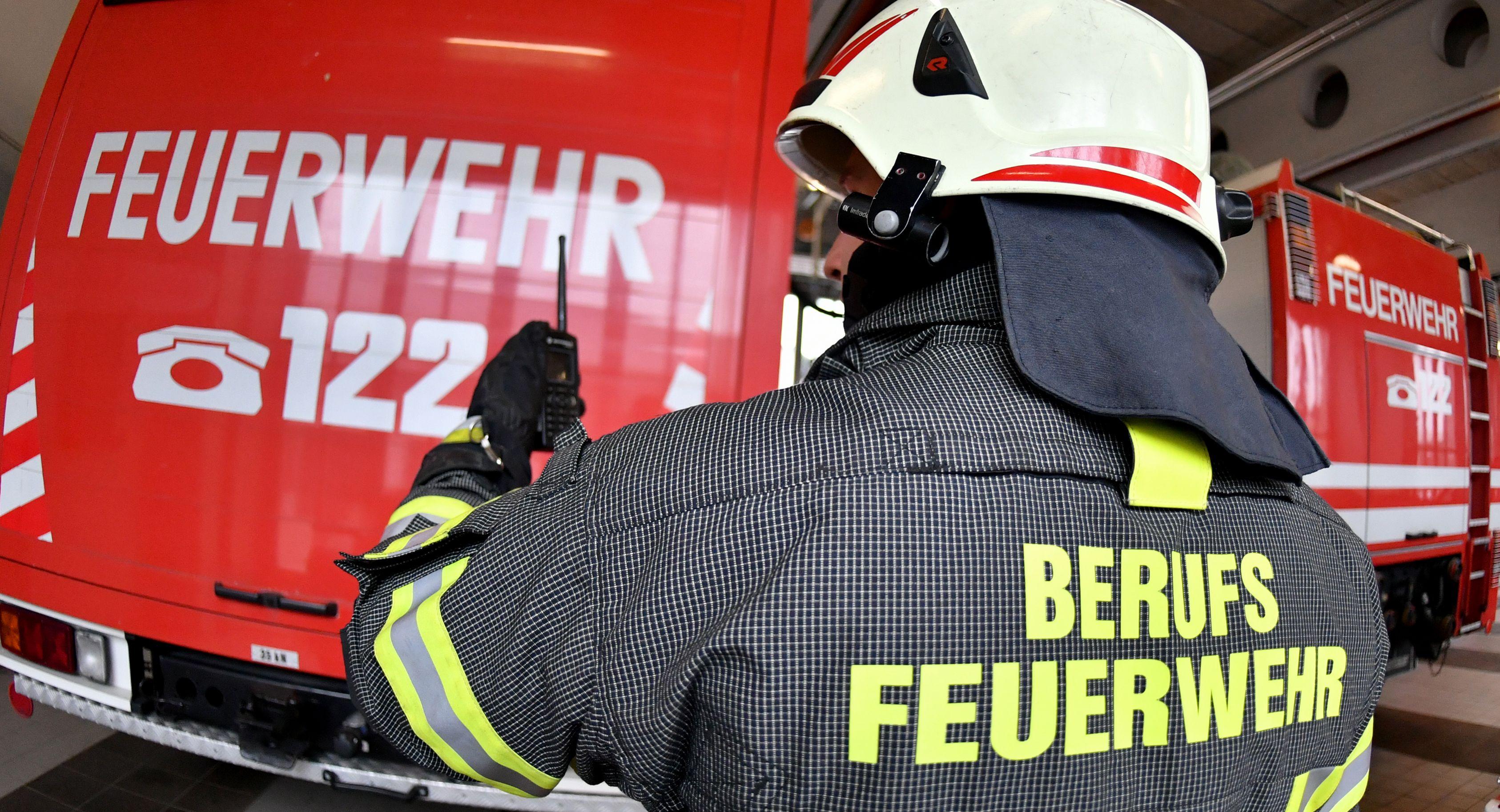 VW-Bus in Feldkirch in Brand geraten