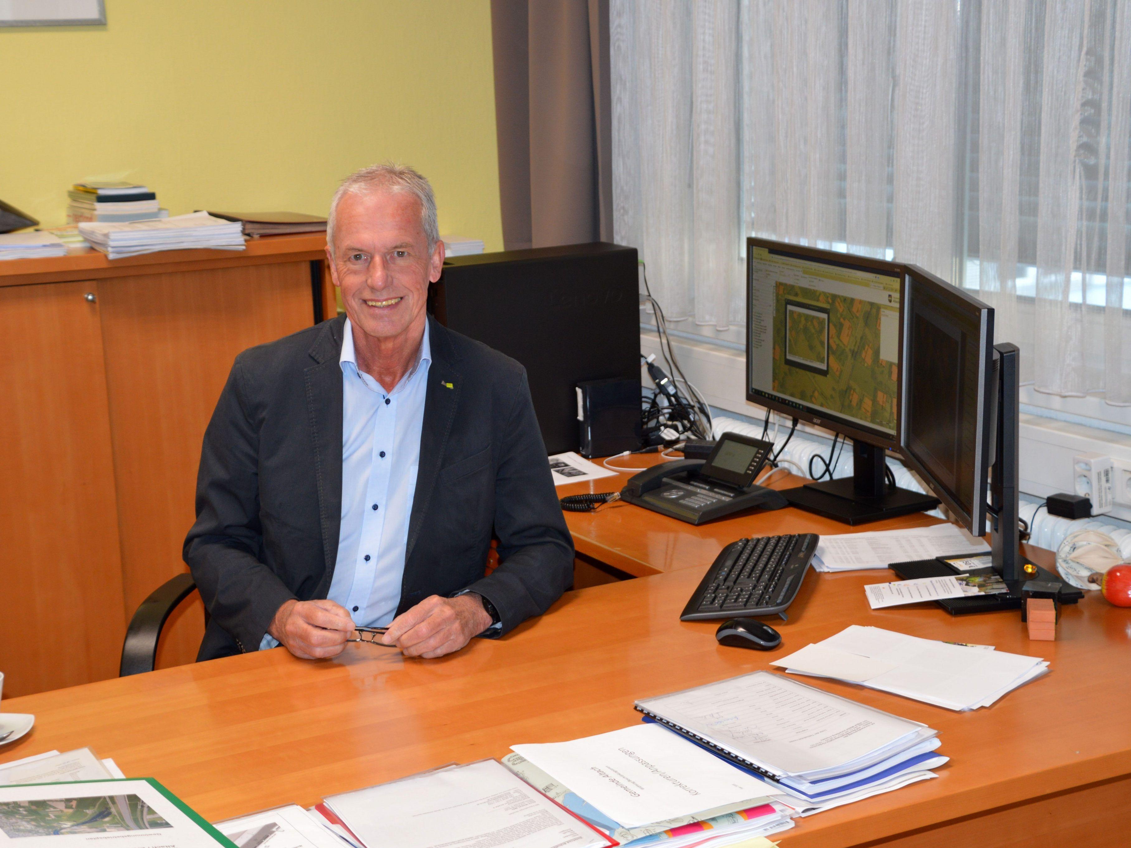 Bürgermeister Pension