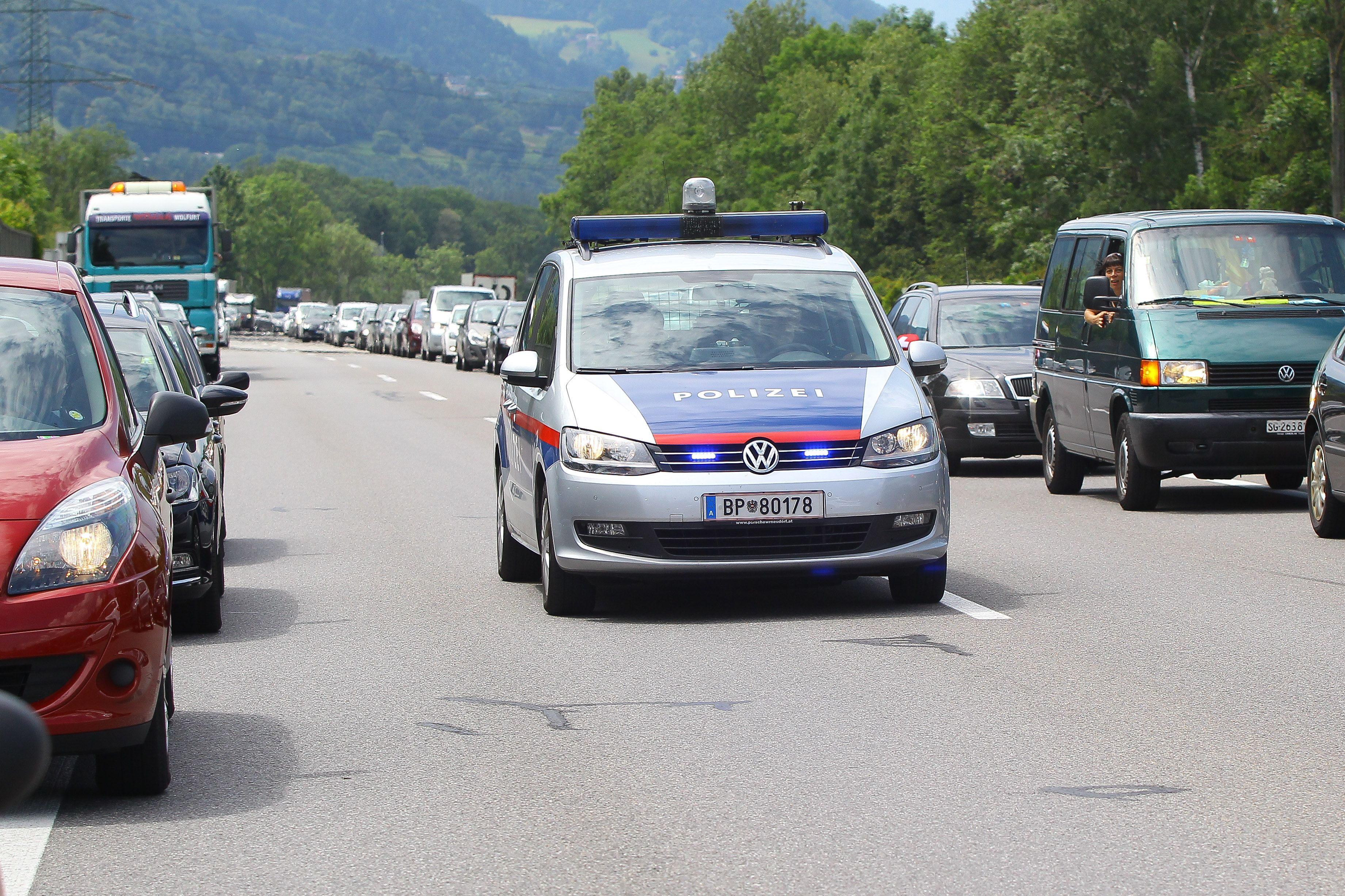 A14 war am Samstag nach Unfall gesperrt