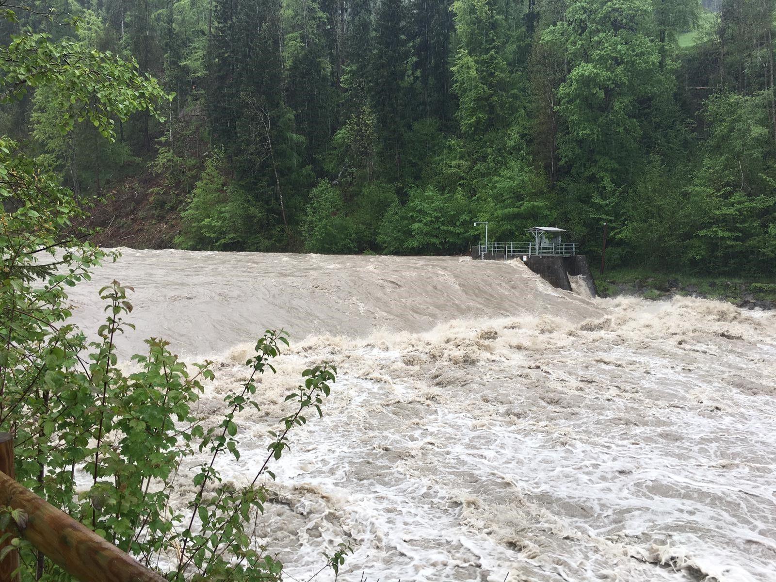 Hochwasser in Vorarlberg: Nun drohen Murenabgänge