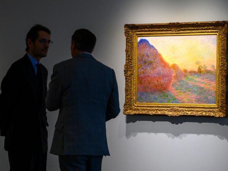 USA - Teurer Heuhaufen: Monet für 111 Millionen Dollar versteigert