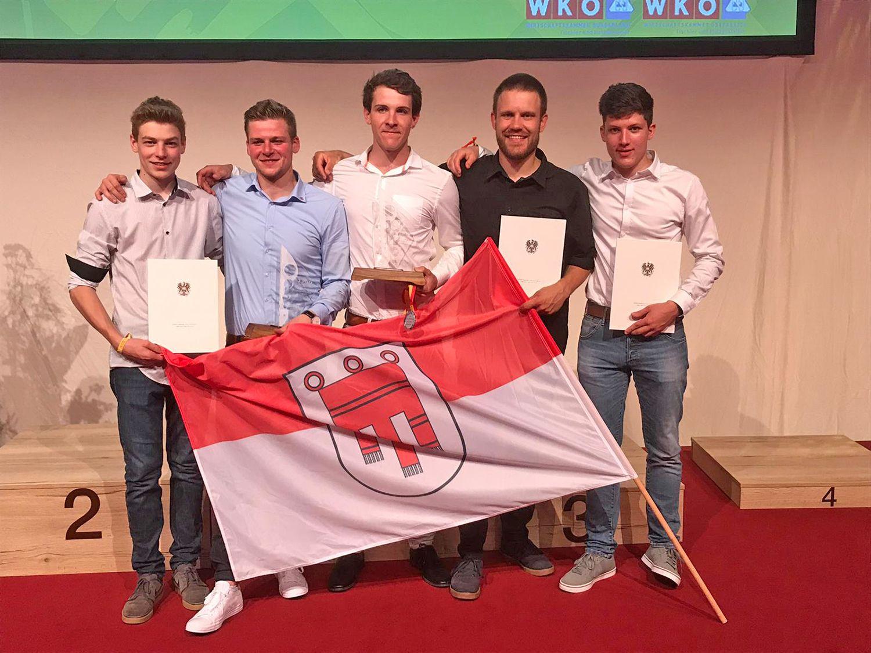 Bundeslehrlingswettbewerb der Tischler: Vorarlberger mit starken Leistungen