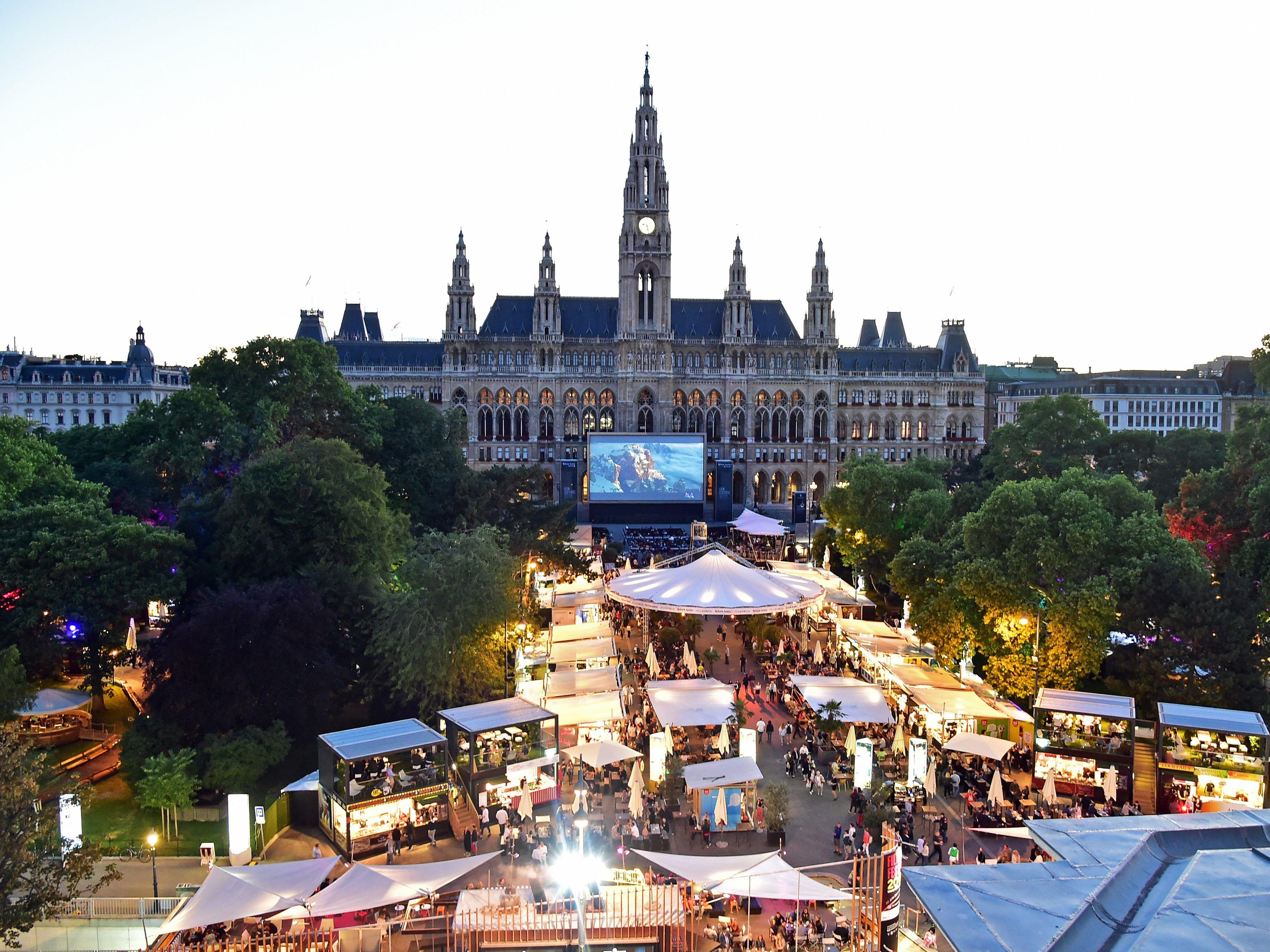 Film Festival 2019 am Wiener Rathausplatz: Das ganze
