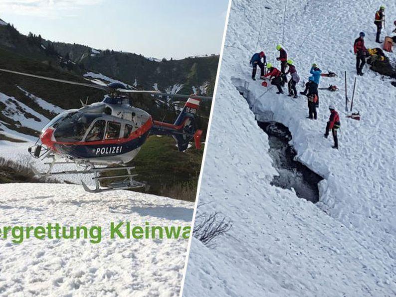 Zwei vermisste deutsche Wanderer in Österreich tot gefunden