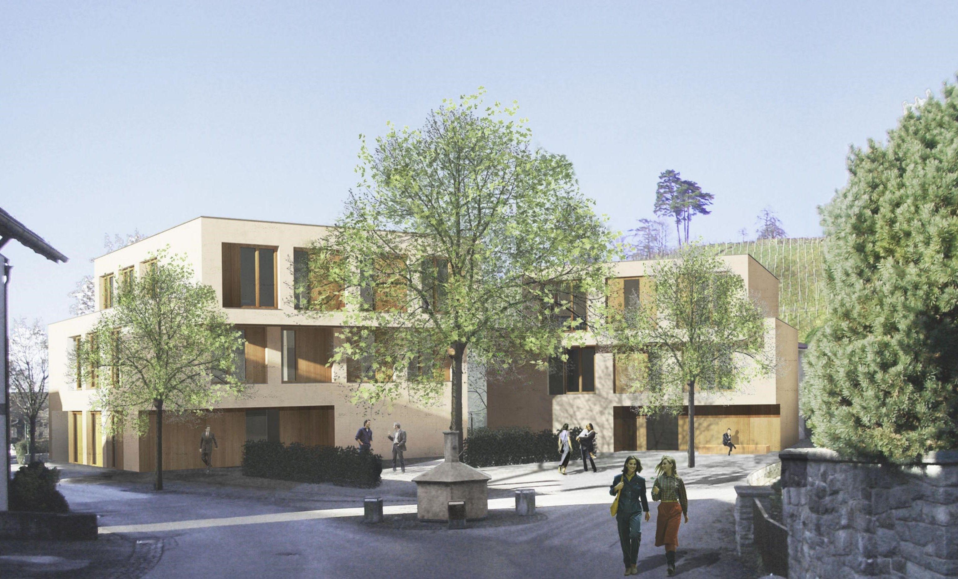Am Torggel-Standort: Richtfest für neues Gebäude
