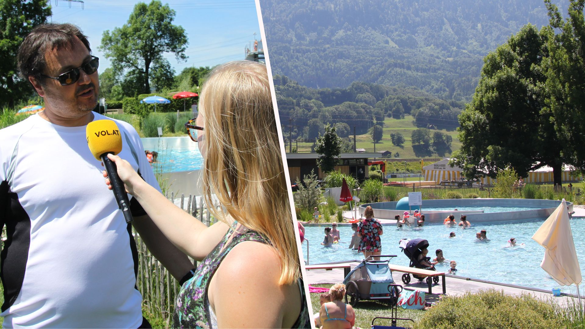 Lebensretter nach Nenzinger Badeunfall: Badegäste sollen aufeinander Acht geben