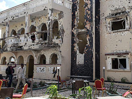 Somalia: 26 Tote bei Anschlag auf Hotel - 10 Ausländer unter den Opfern