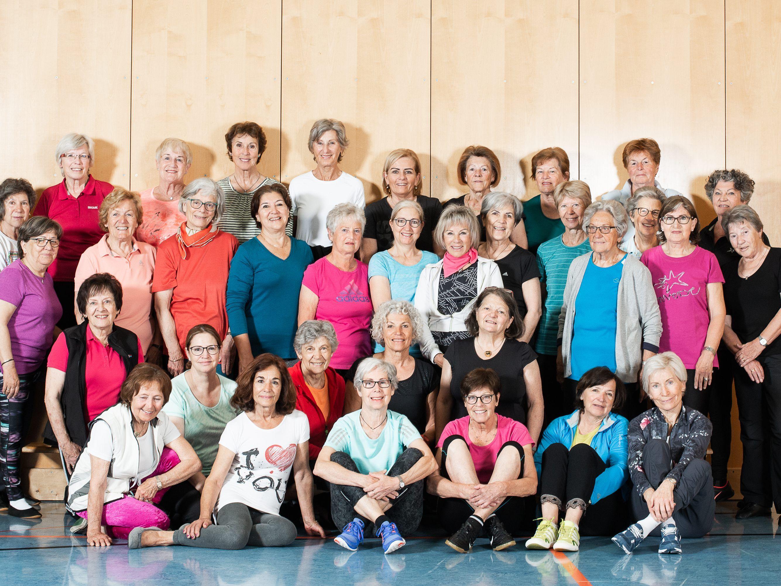 Seit ber 30 Jahren aktiv: Frauen-Turngruppe Lustenau